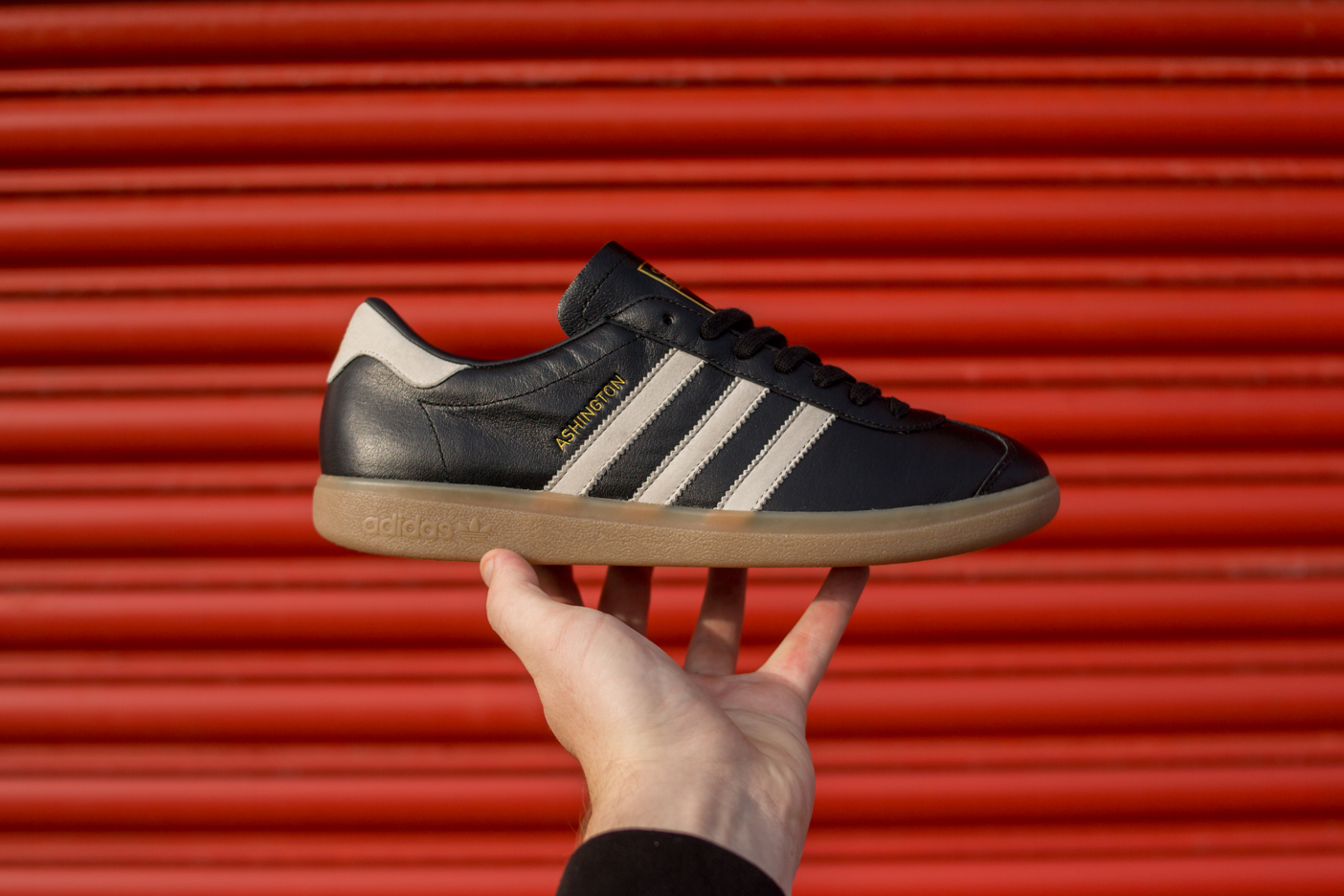 online store bb6fe e9717 For the second collaborative shoe with the Red Devils, adidas Originals and  Manchester United team up once again to create the Ashington, ...