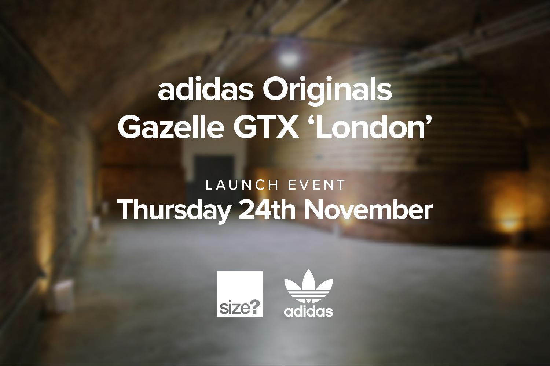 adidas Originals Gazelle GTX Launch Event – Competition Closed