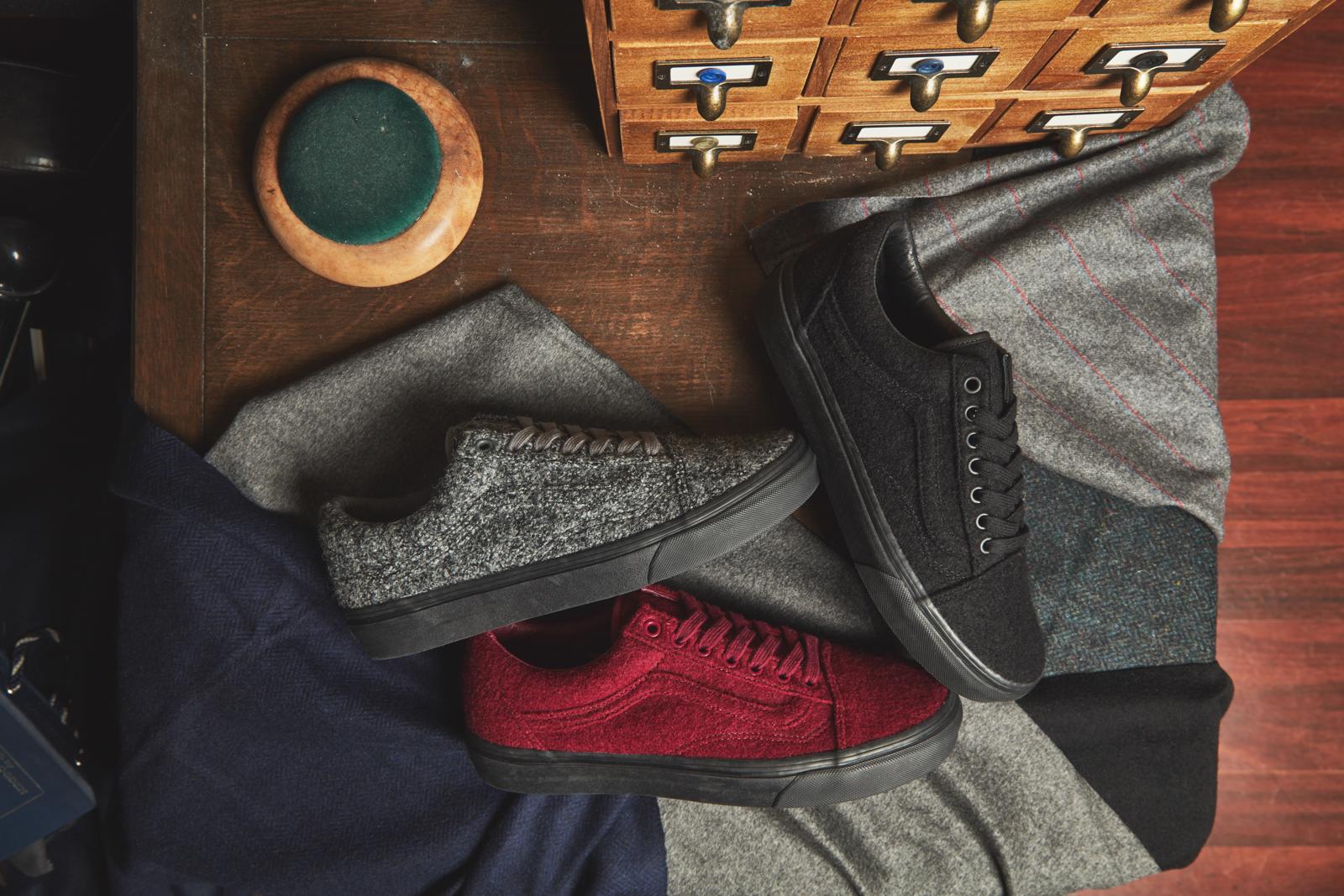 size? x Vans Old Skool 'Wool' Pack
