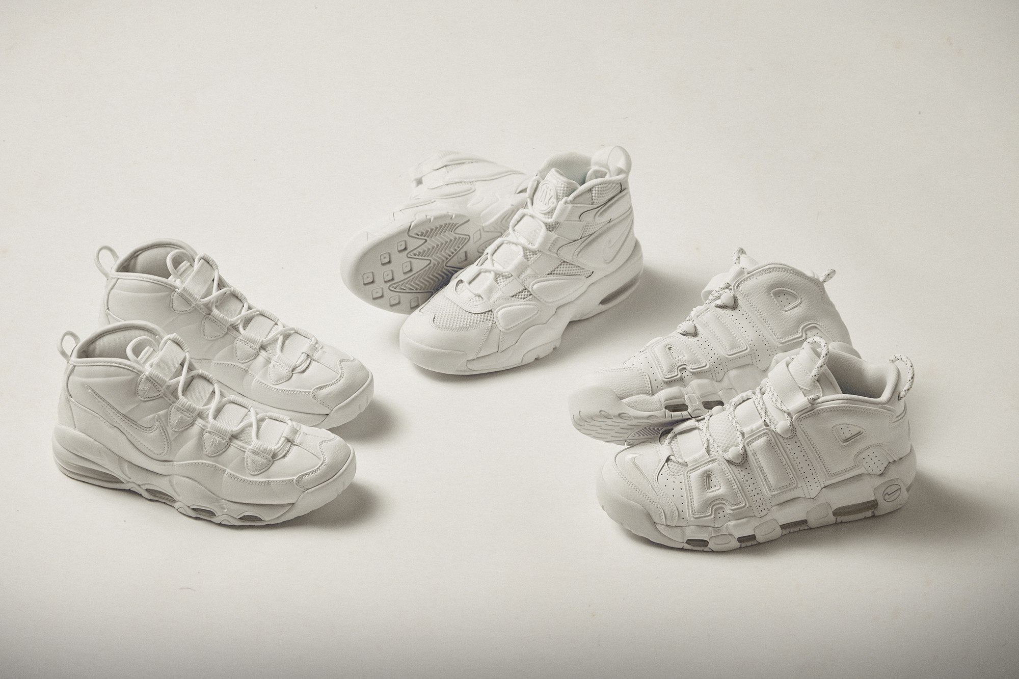 Nike Air Uptempo 'White' Pack