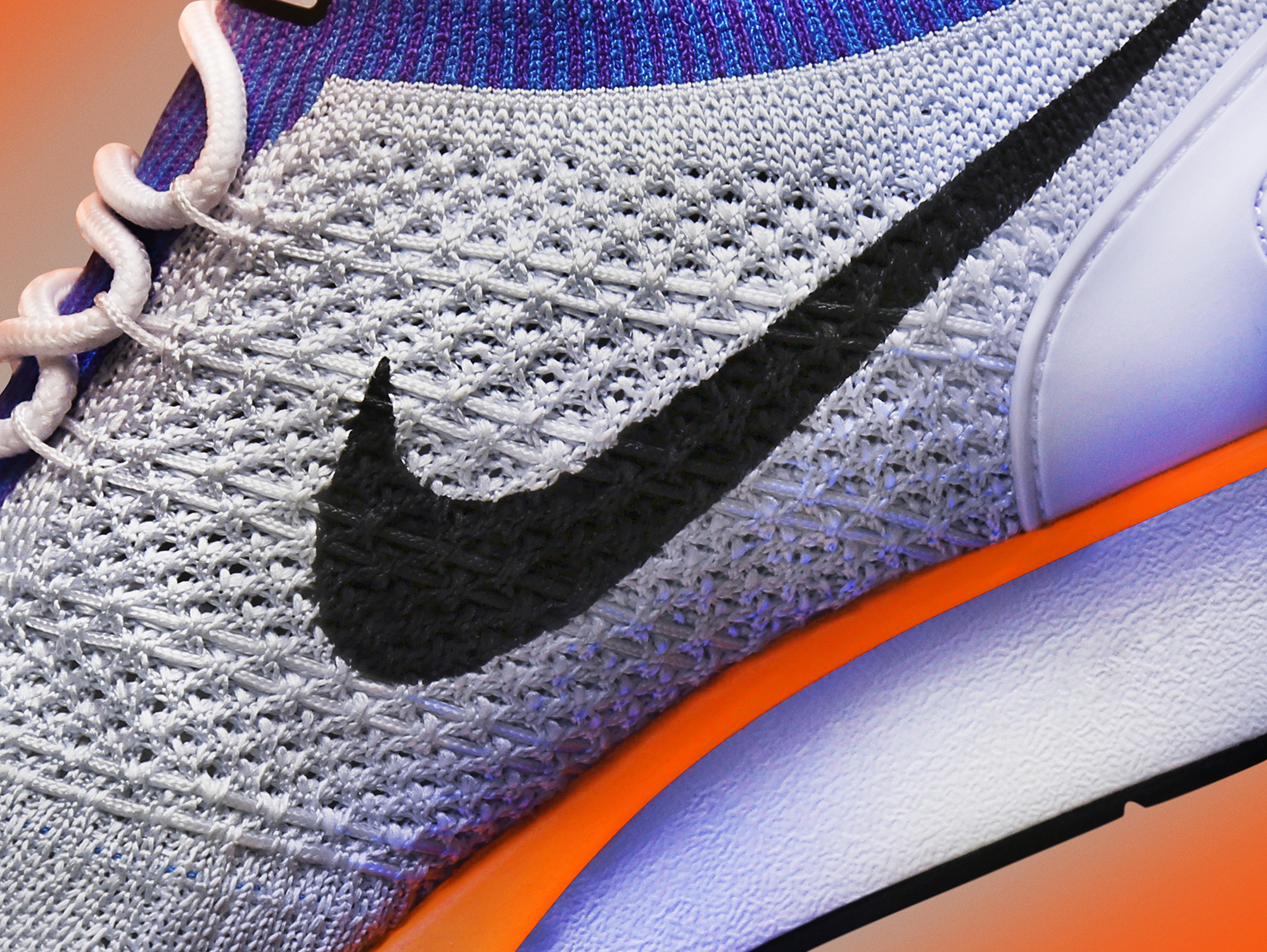 588f66ea76125 A full flyknit upper has been added to the upper in a similar fashion to 2012 s  Flyknit Racer