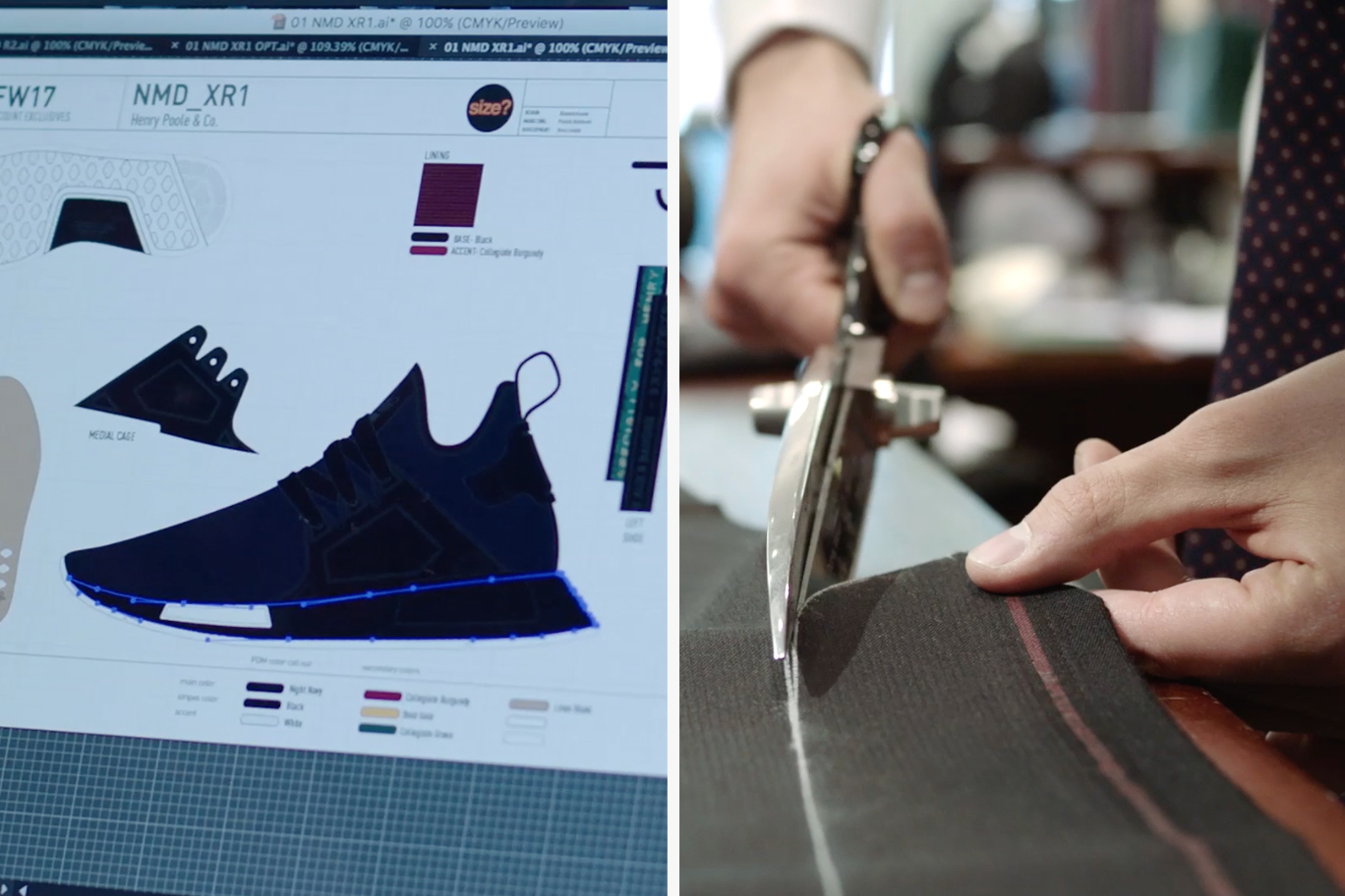 adidas Originals x Henry Poole – When Two Design Processes Collide