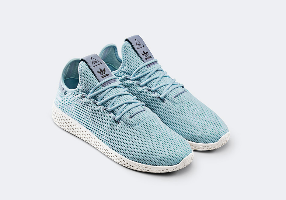 lowest price 652bd 12bcc Pharrell Williams x adidas Originals Tennis HU. & Stan Smith ...