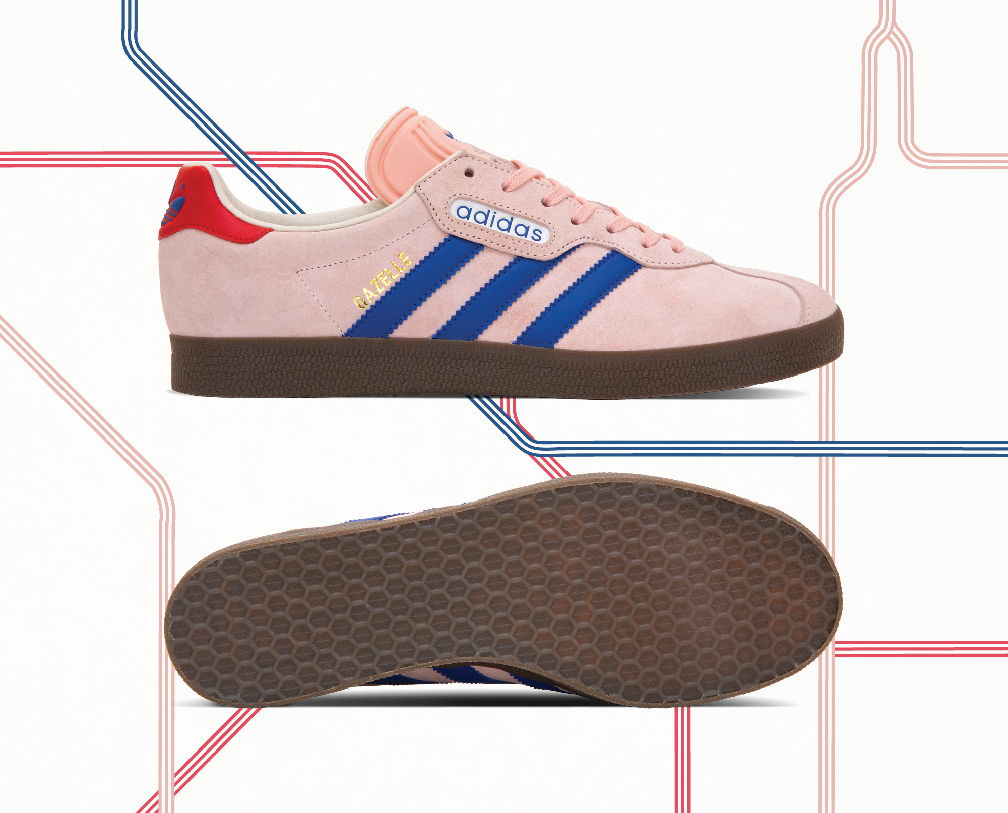 calentar Mm Equipo  adidas Originals Archive 'London to Manchester' - size? Exclusive - size?  blog