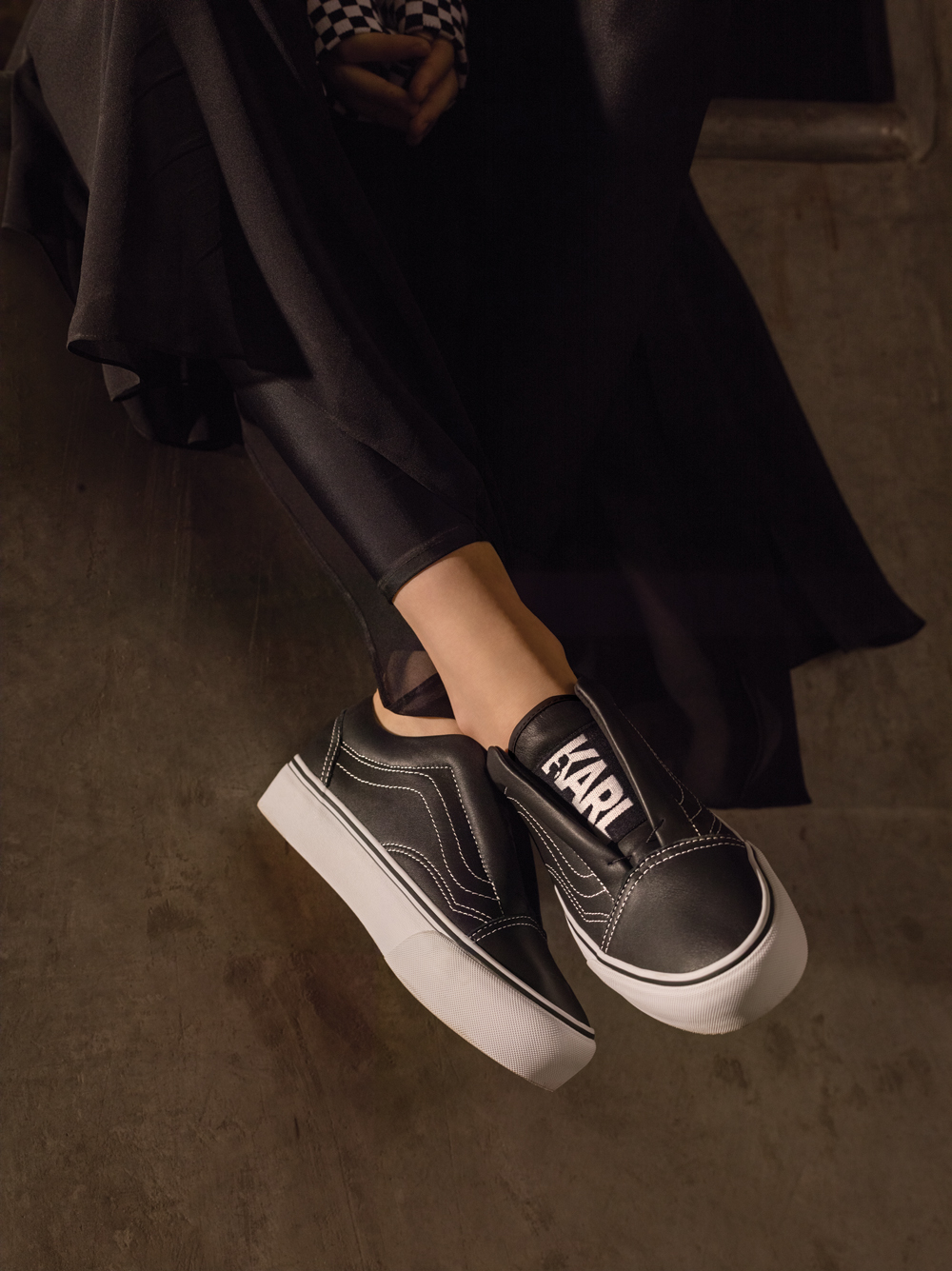 2b3d21070cf1 The Vans x Karl Lagerfeld Women s Collection will be available in selected  size  stores on Thursday September 9th