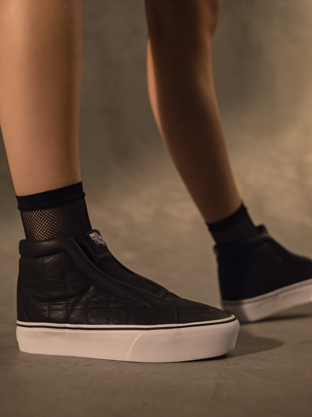 eca216e4b01 The latest work with Karl Lagerfeld takes two variations of the Slip-On