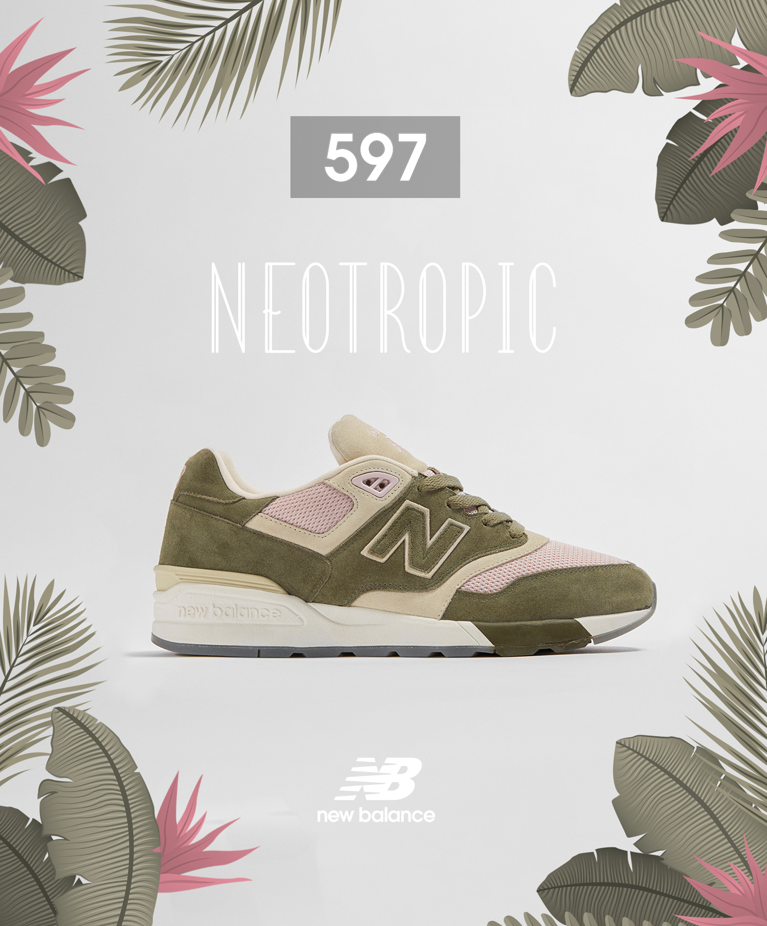 competitive price fd438 4a978 New Balance 597 'Neotropic' - size? Exclusive - size? blog