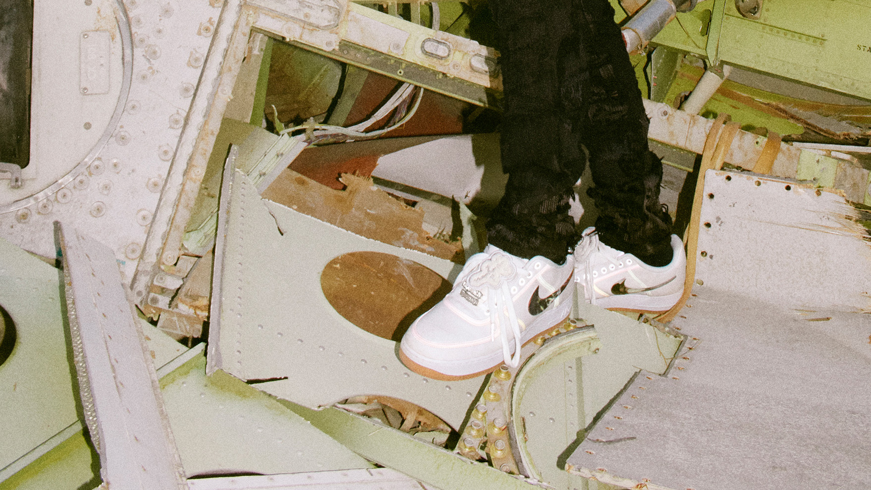 Nike AF-100 Collection - Travis Scott Air Force 1 Low - size  blog 19007a542