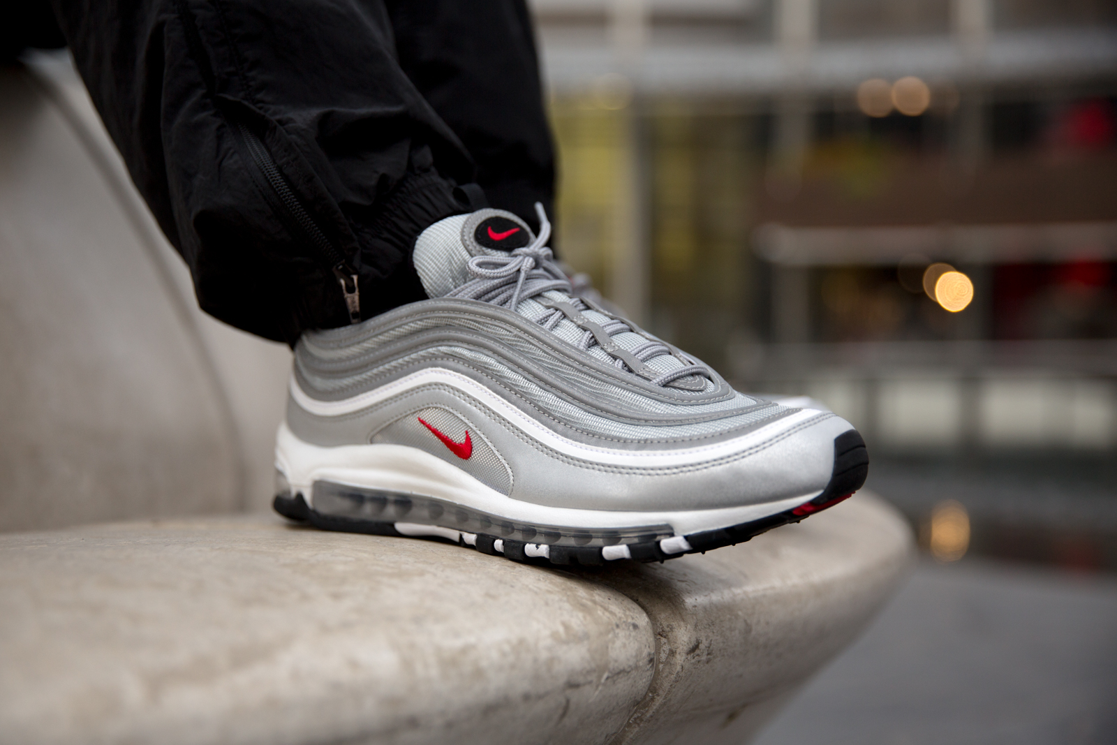 Returning for the last time this year in it's unmistakable, full Silver hue, the Air Max 97 has made a strong comeback for its 20th anniversary.