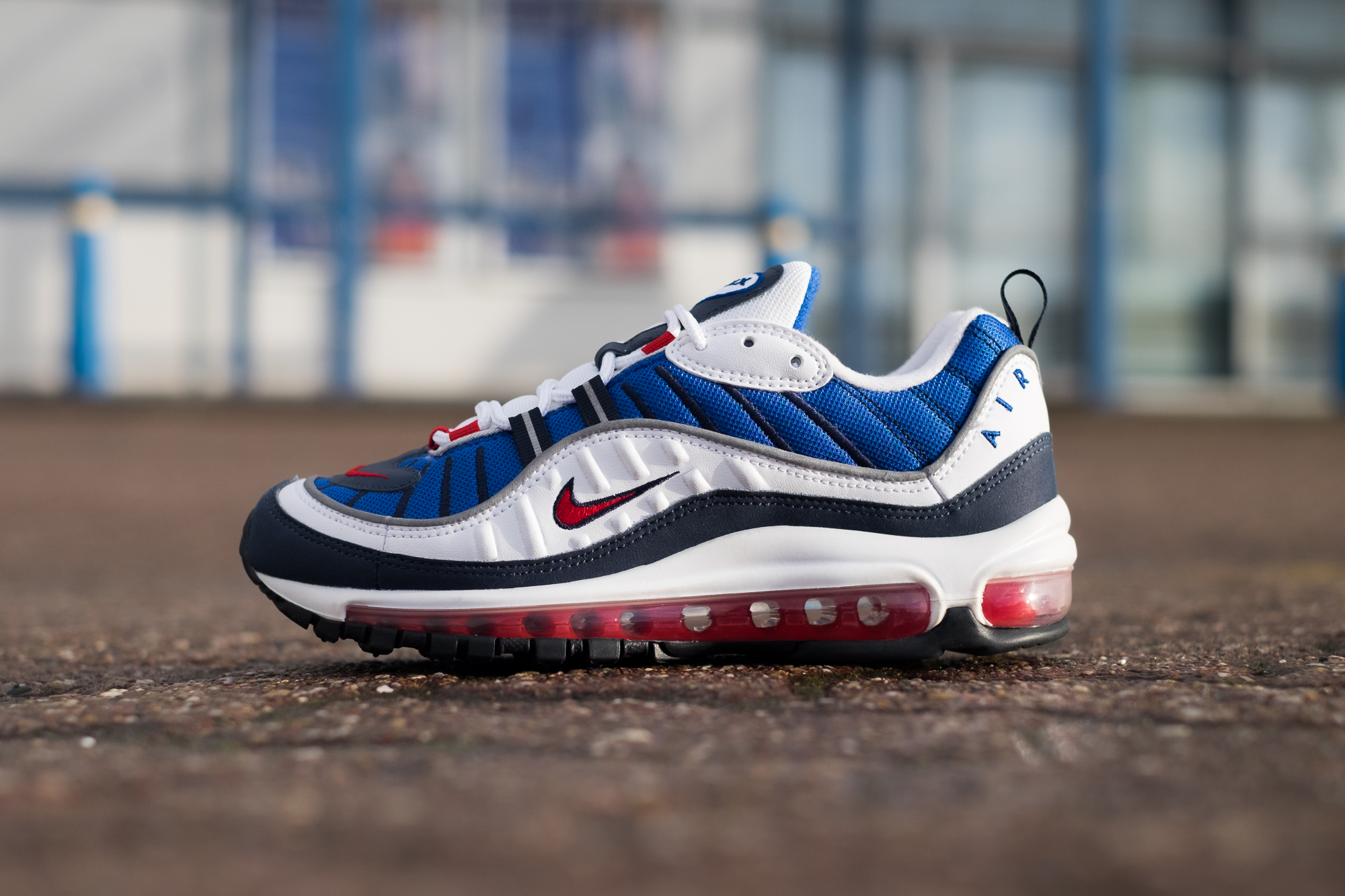 Nike Air Max 98 Gundam Size Blog