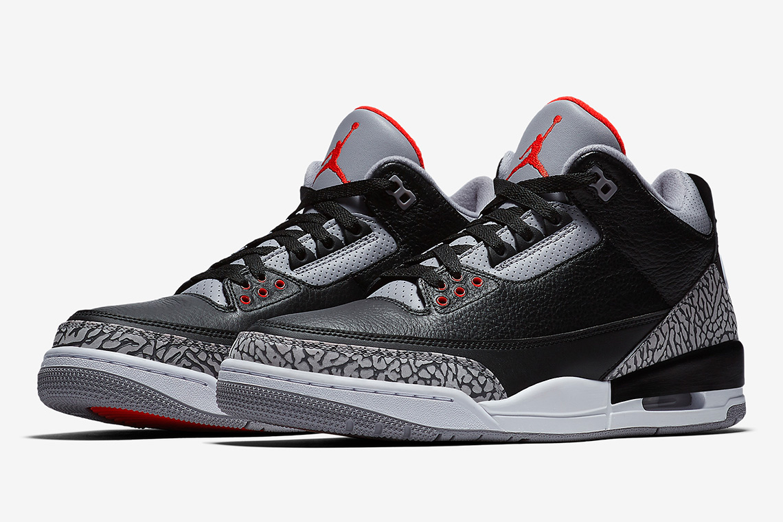 Air Jordan III Retro OG 'Black Cement'
