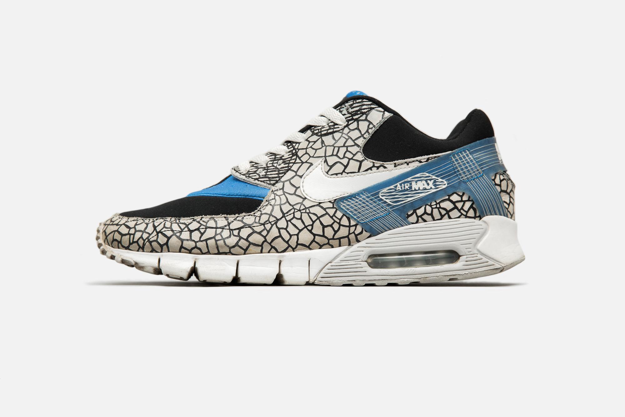best sneakers bafbd 7438e HUF x Nike Air Max 90 Current Huarache – 2009