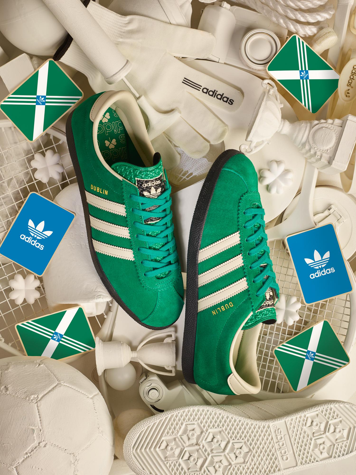 Jabeth Wilson auxiliar visual  adidas Originals Archive Dublin 'St Patrick's Day' - size? Exclusive -  size? blog