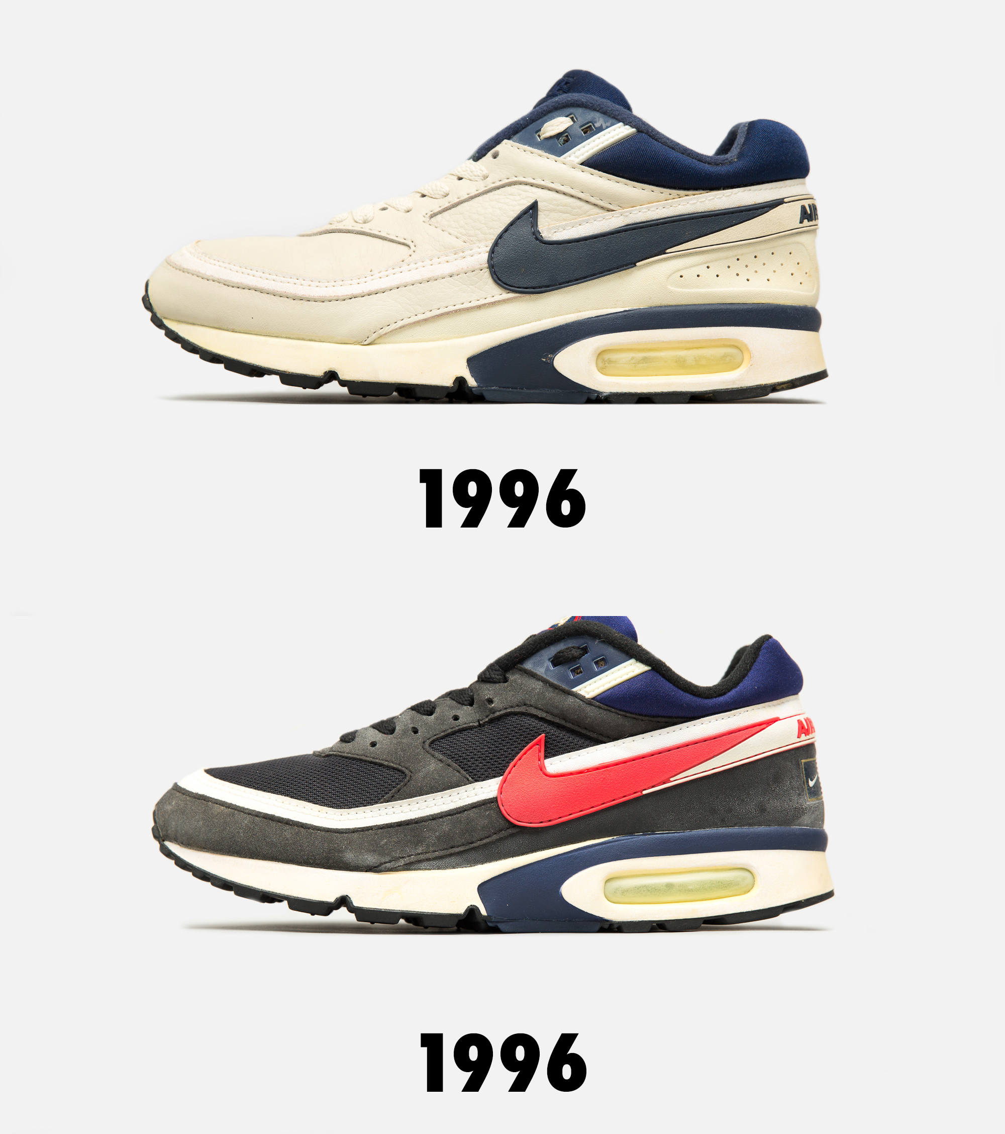 check out cc30c 04746 Characteristics on the uppers took note from other shoes of the same era,  visually evolving year by year. Nike Air Max Classic BW ...