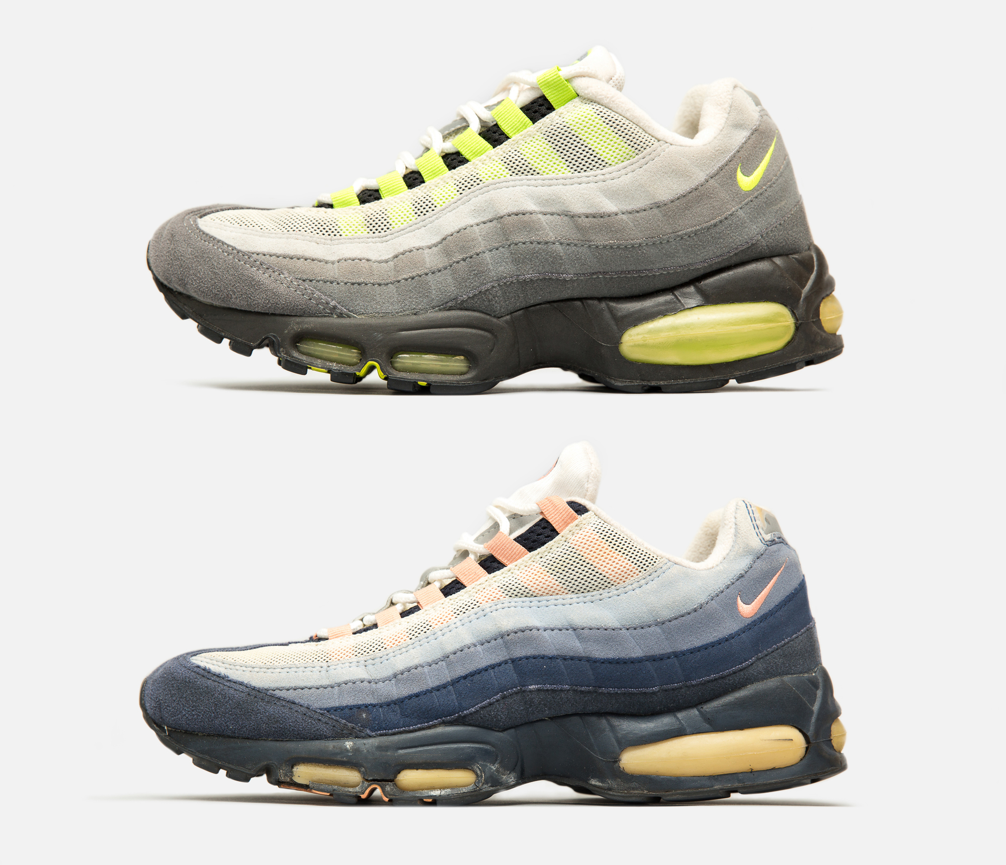 cheaper bf32d a3c34 The Air Max 90 was inspired by the varying colours found on beach huts on  Brighton s seafront, with a small grpahic icon also placed on the insole to  ...