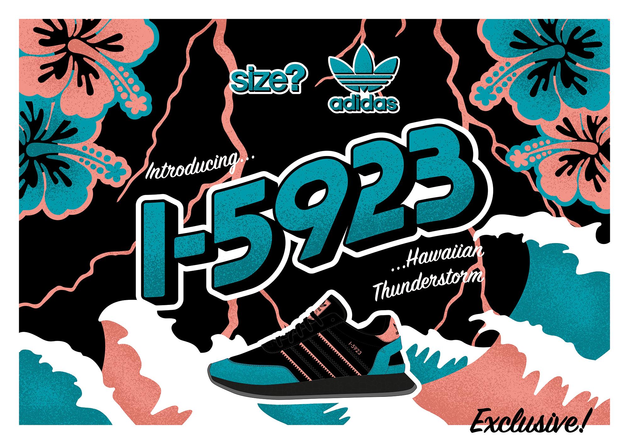 adidas Originals I-5923 'Hawaiian Thunderstorm' – size? Exclusive