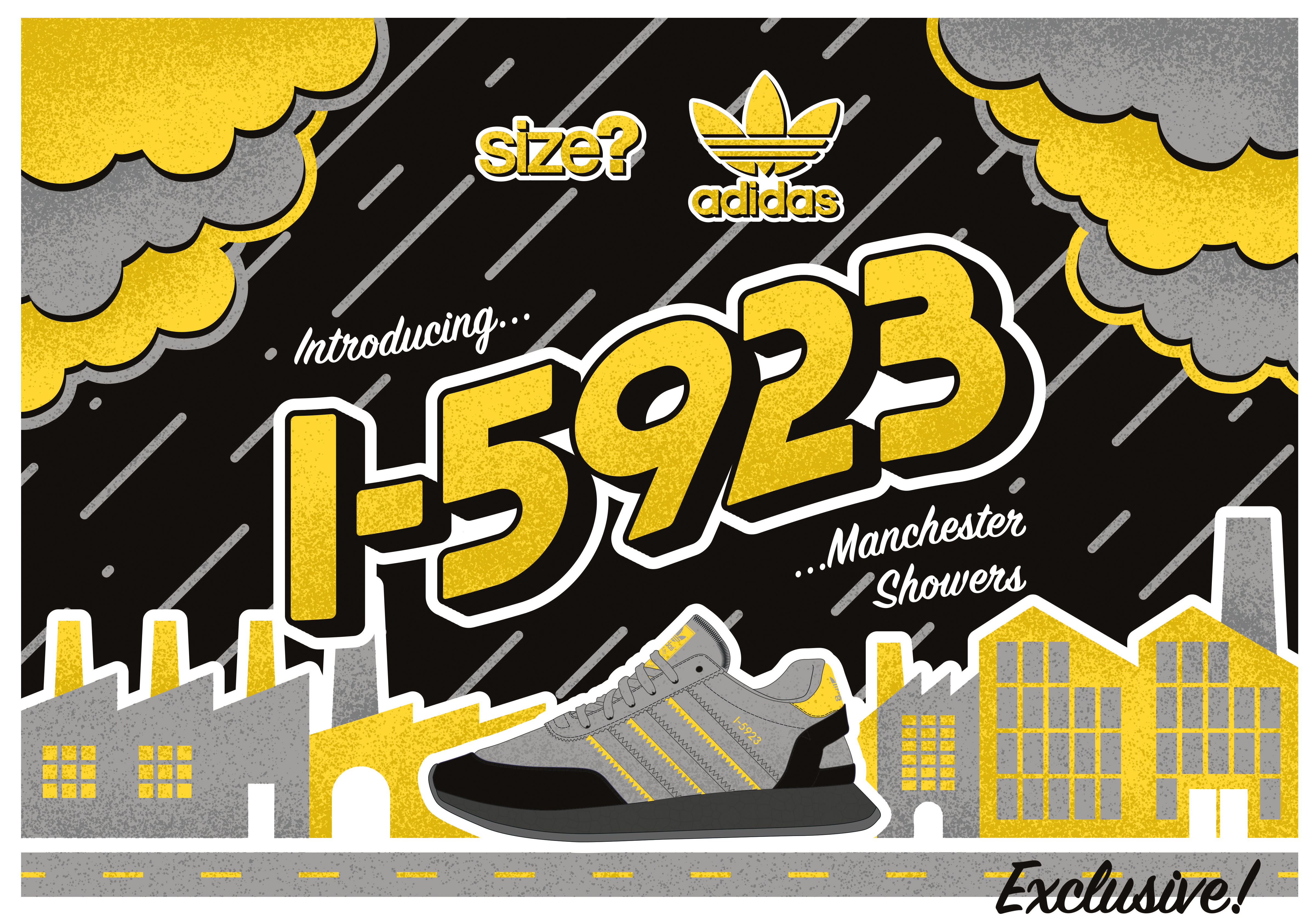 adidas Originals I-5923 'Manchester Showers' – size? Exclusive