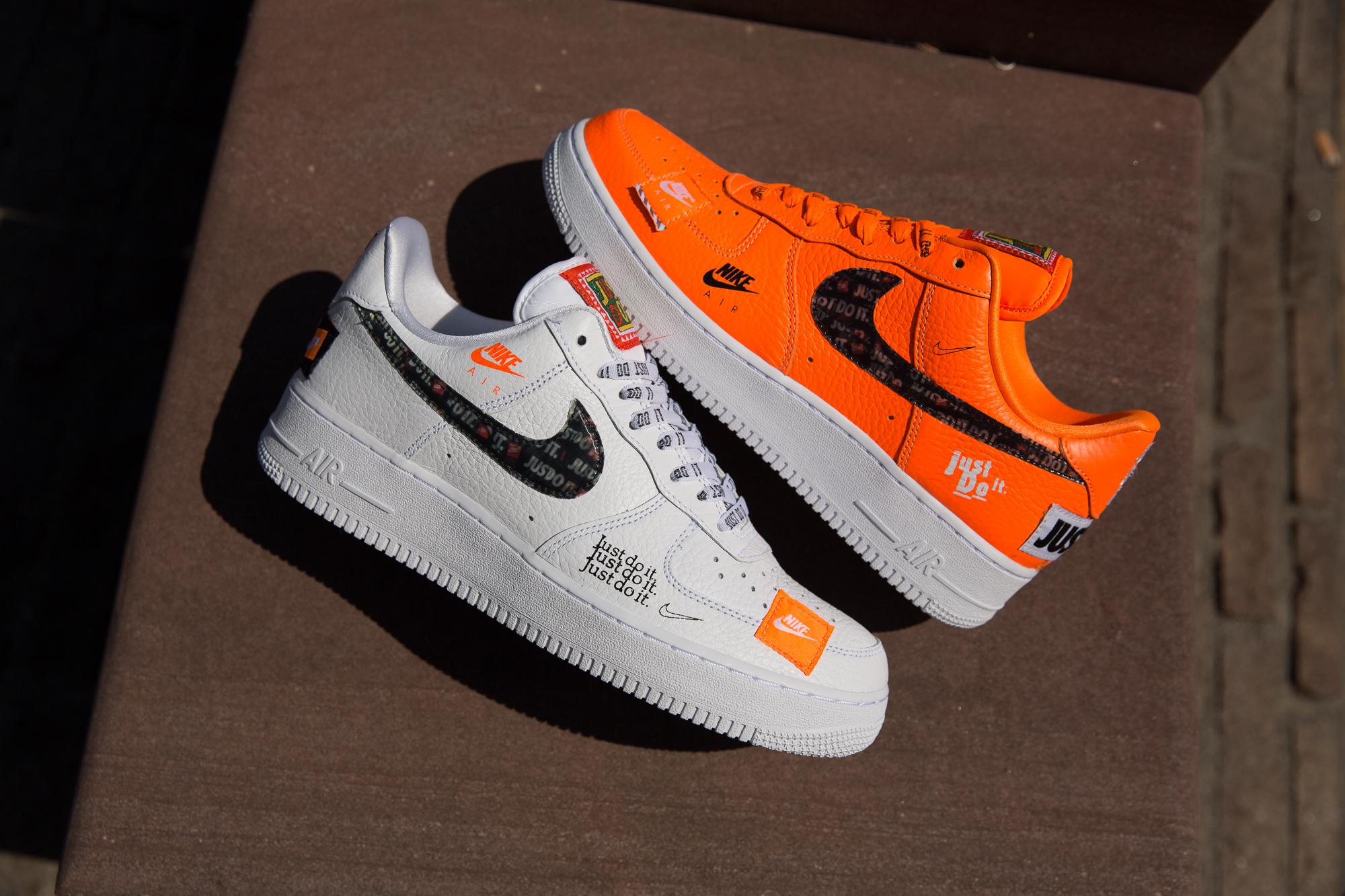 the latest 60465 a7001 Nike Air Force 1 Just Do It Pack
