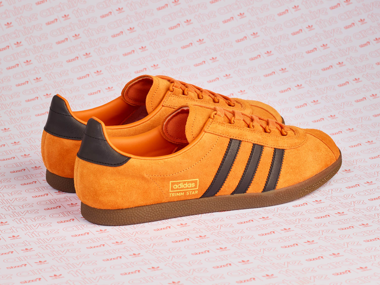 b71b176dcce adidas Originals Archive Trimm Star  Pumpkin  - size  Exclusive ...