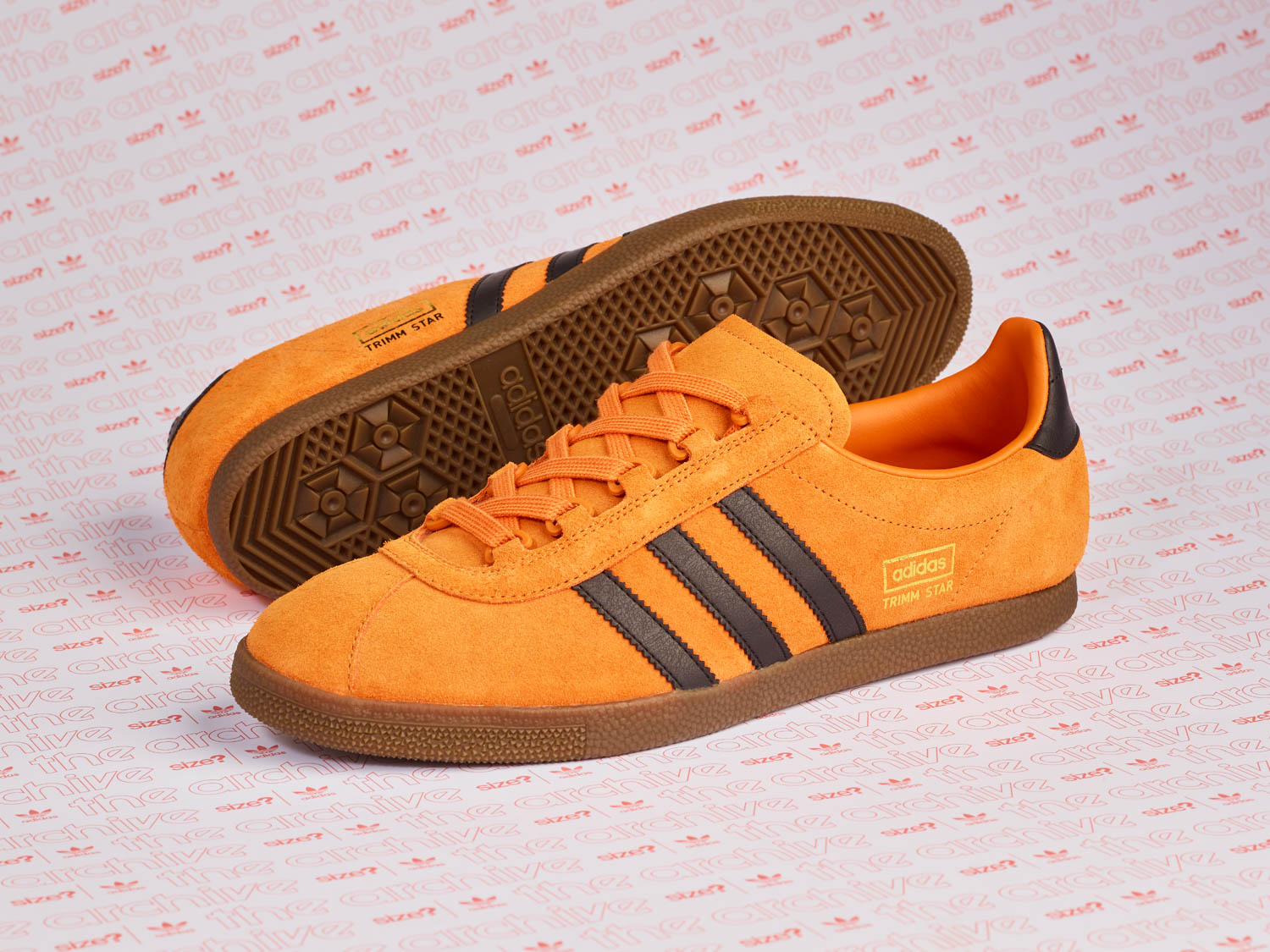 adidas Originals Archive Trimm Star 'Pumpkin' – size? Exclusive