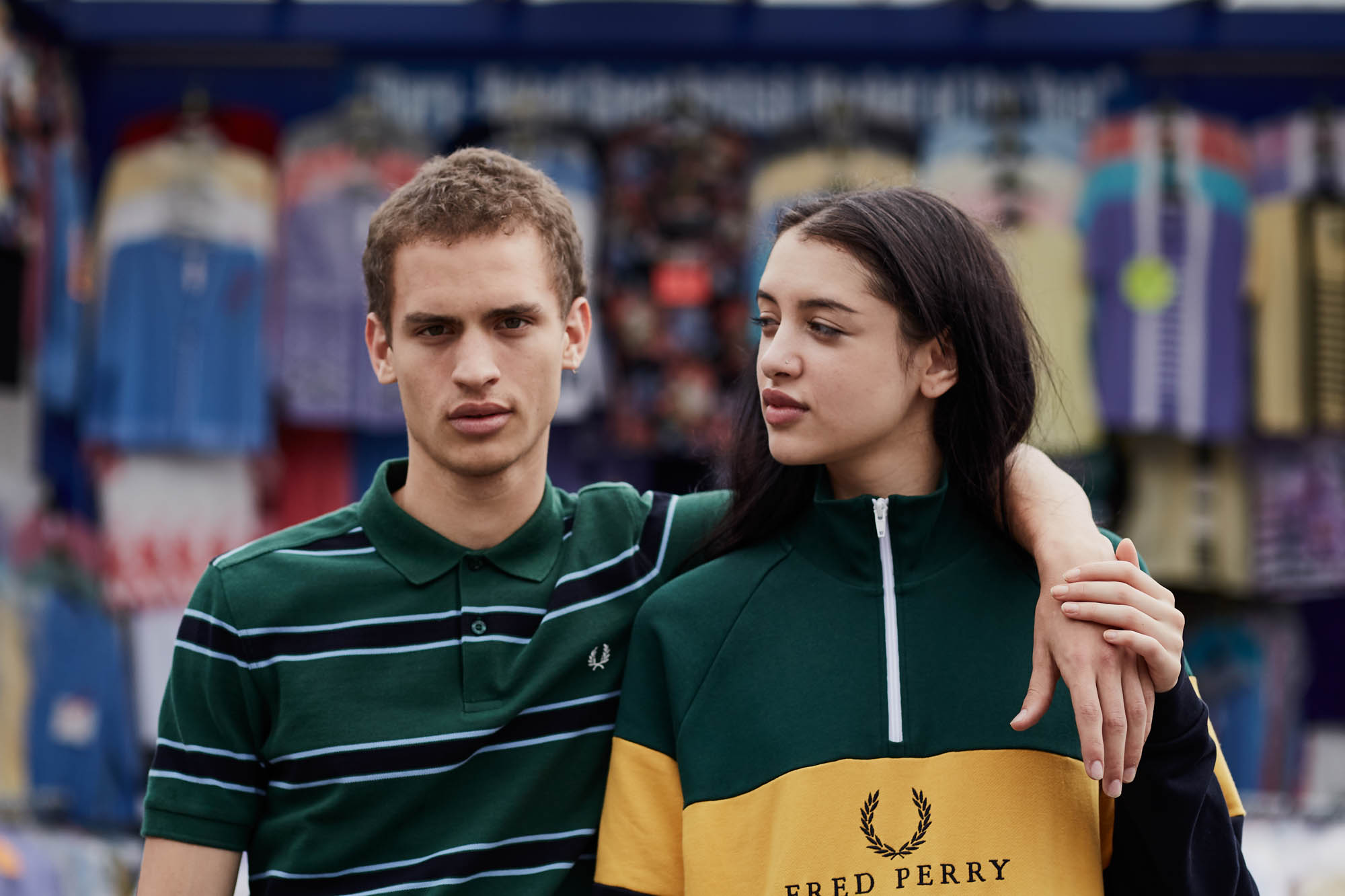 Fred Perry 'Striped' Apparel Collection – size? Exclusive