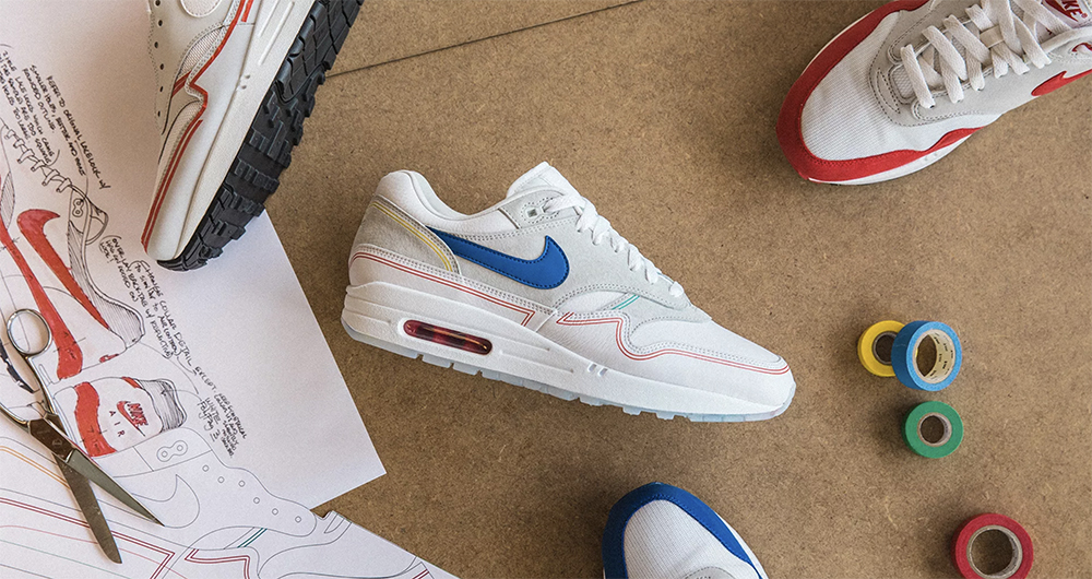 Nike Air Max 1 Pompidou 'By Day/By Night'