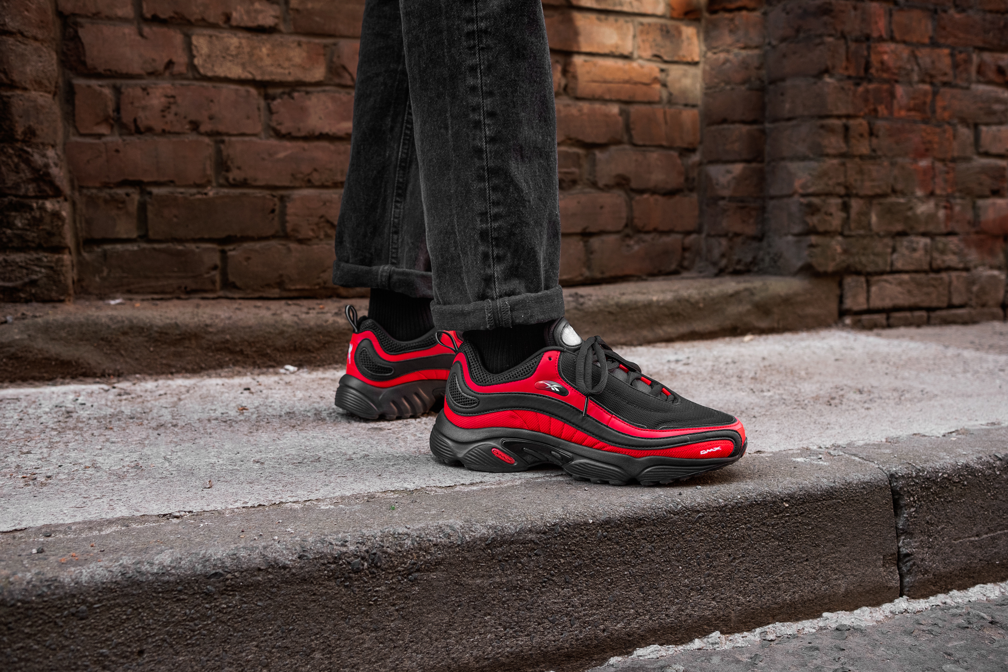 1cbd3923025a2f Reebok Daytona DMX size  Exclusive Red And Black - size  Blog