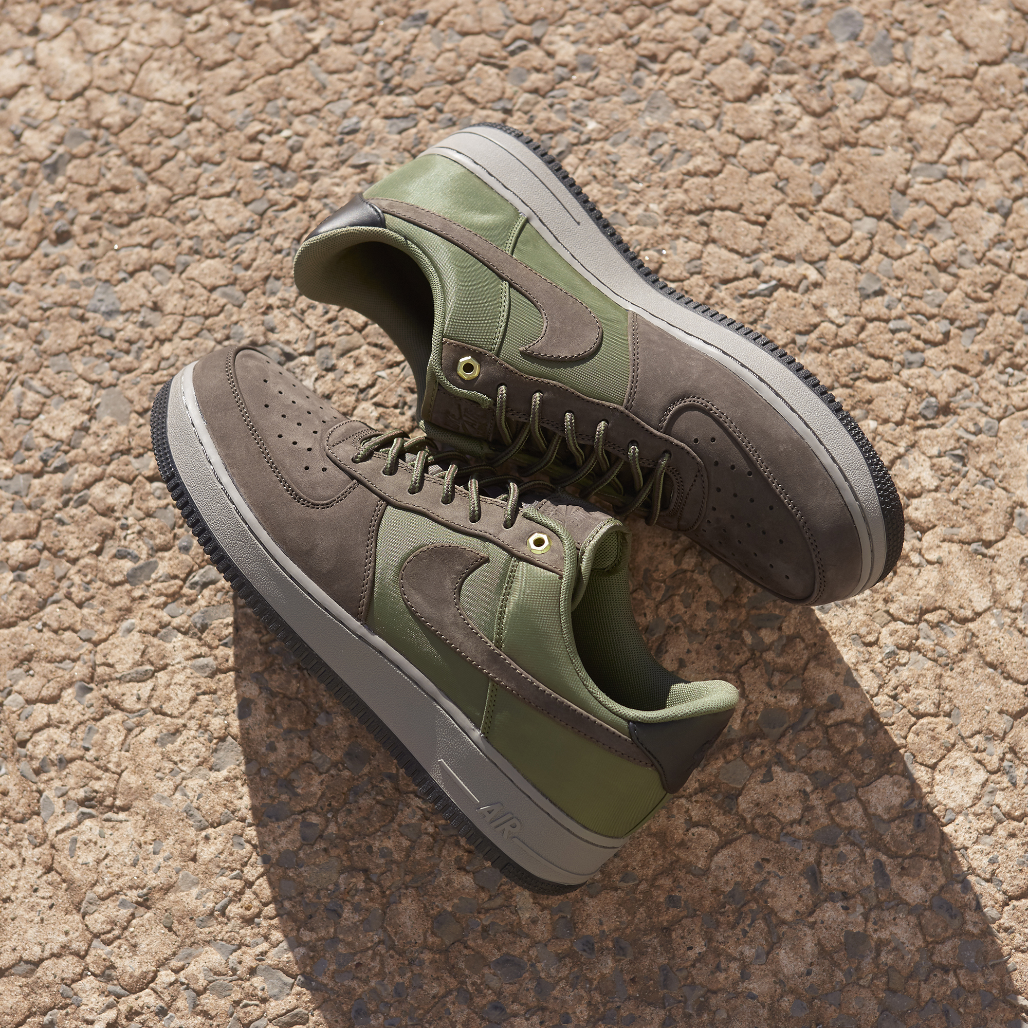 4d74be2d88 The Air Force 1 '07 Premier Low 'Baroque Brown/Army Olive' is available to  buy online only