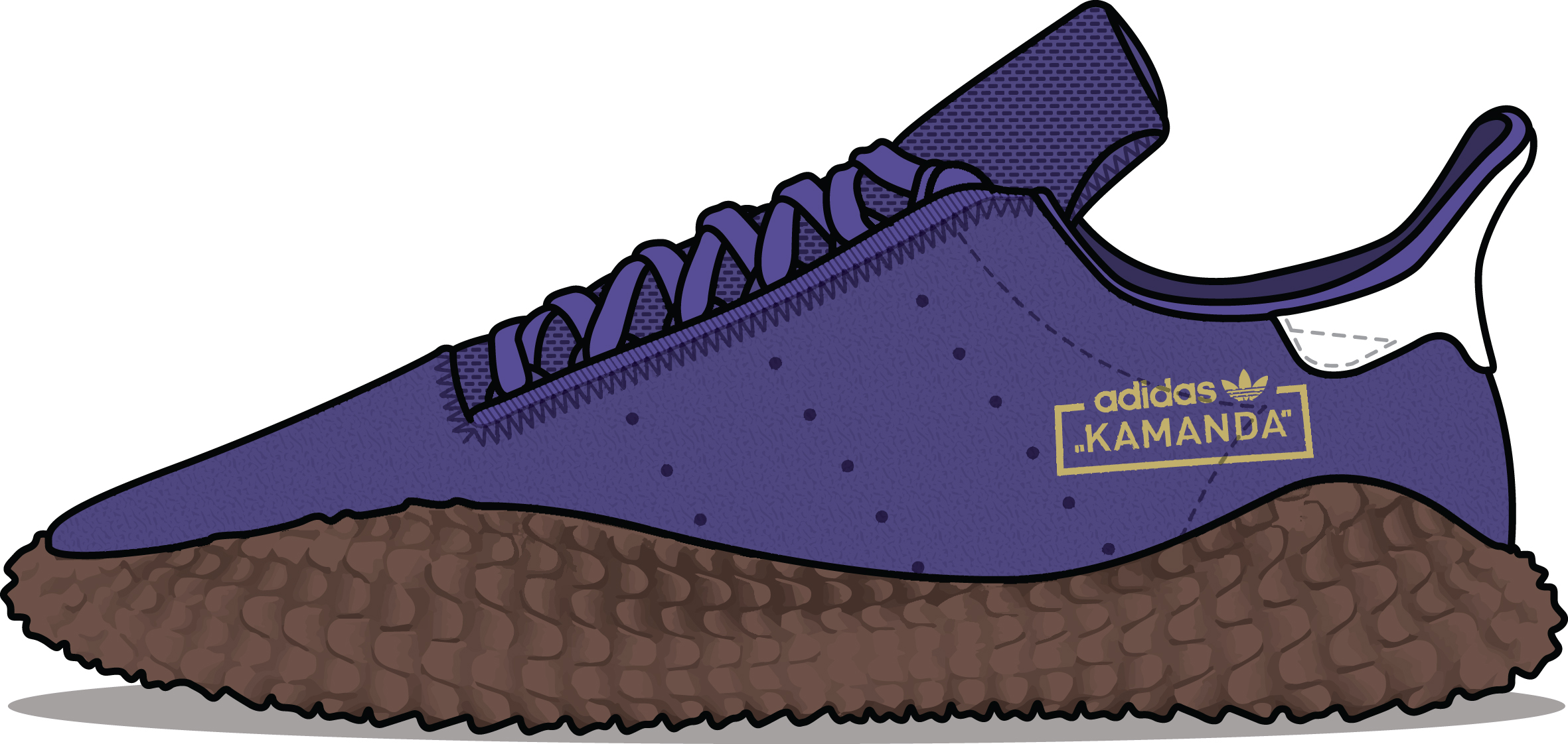 adidas Originals Kamanda 'Energy Ink' and 'Olive'