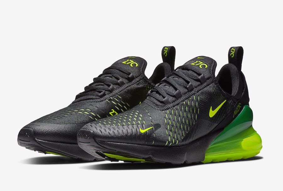 43226eb7ef Nike Air Max 270 'Black & Volt' - size? blog