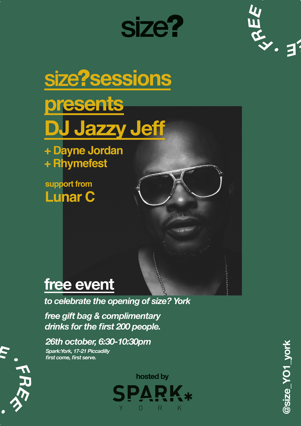 size? sessions presents DJ Jazzy Jeff