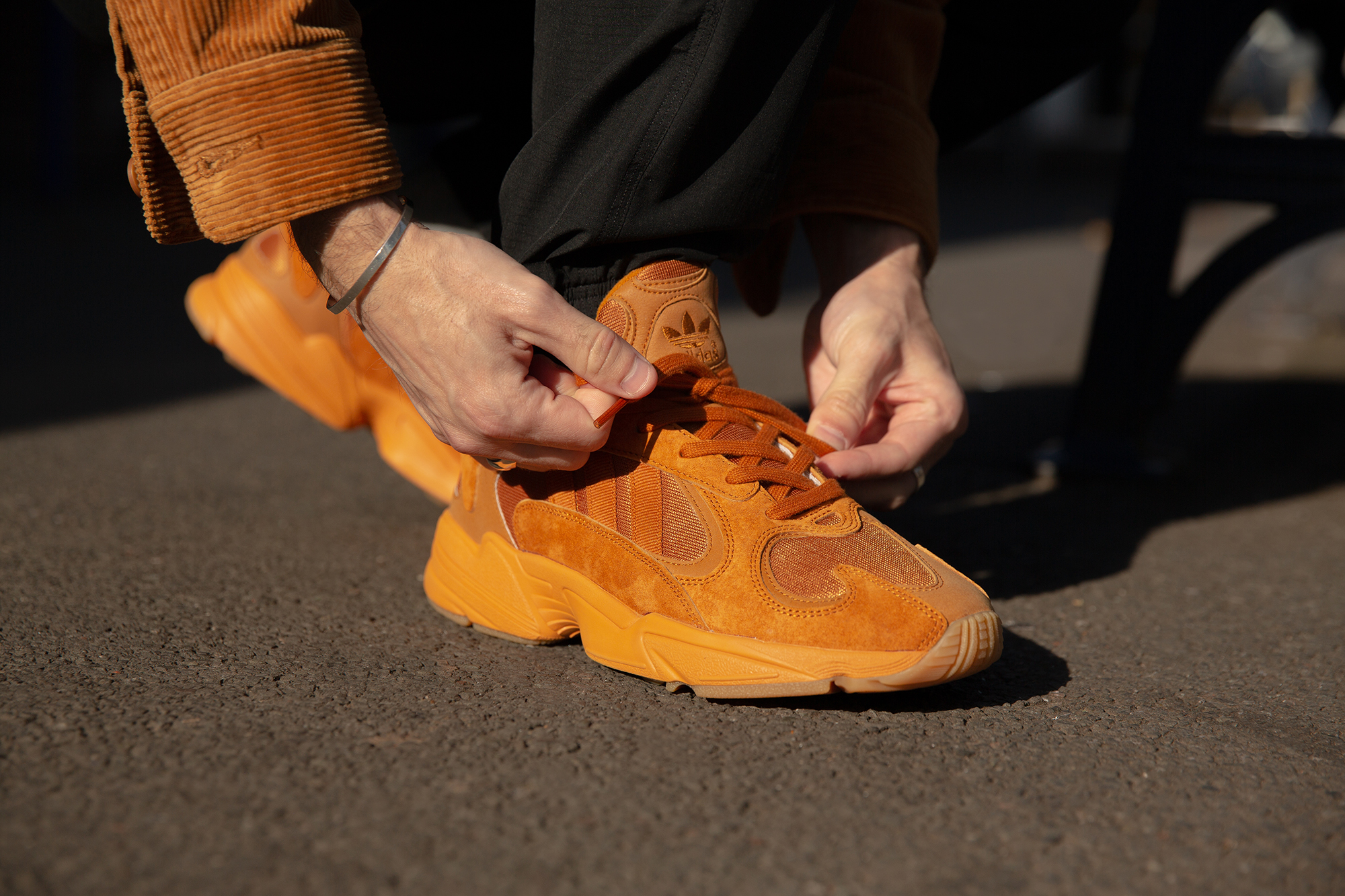 The size? Exclusive adidas Originals YUNG-1 'Craft Ochre'