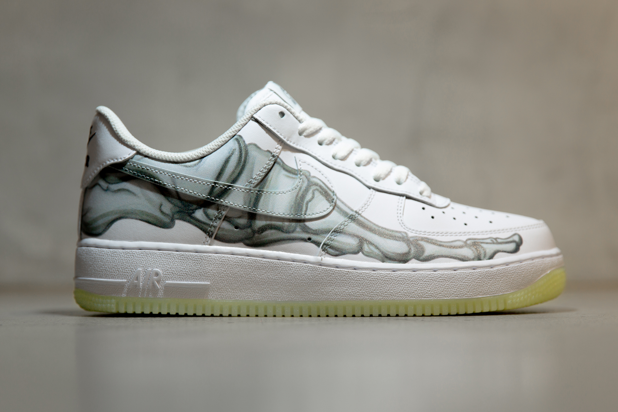 Nike and Puma Halloween Sneakers | Air Force 1 Skeleton Release