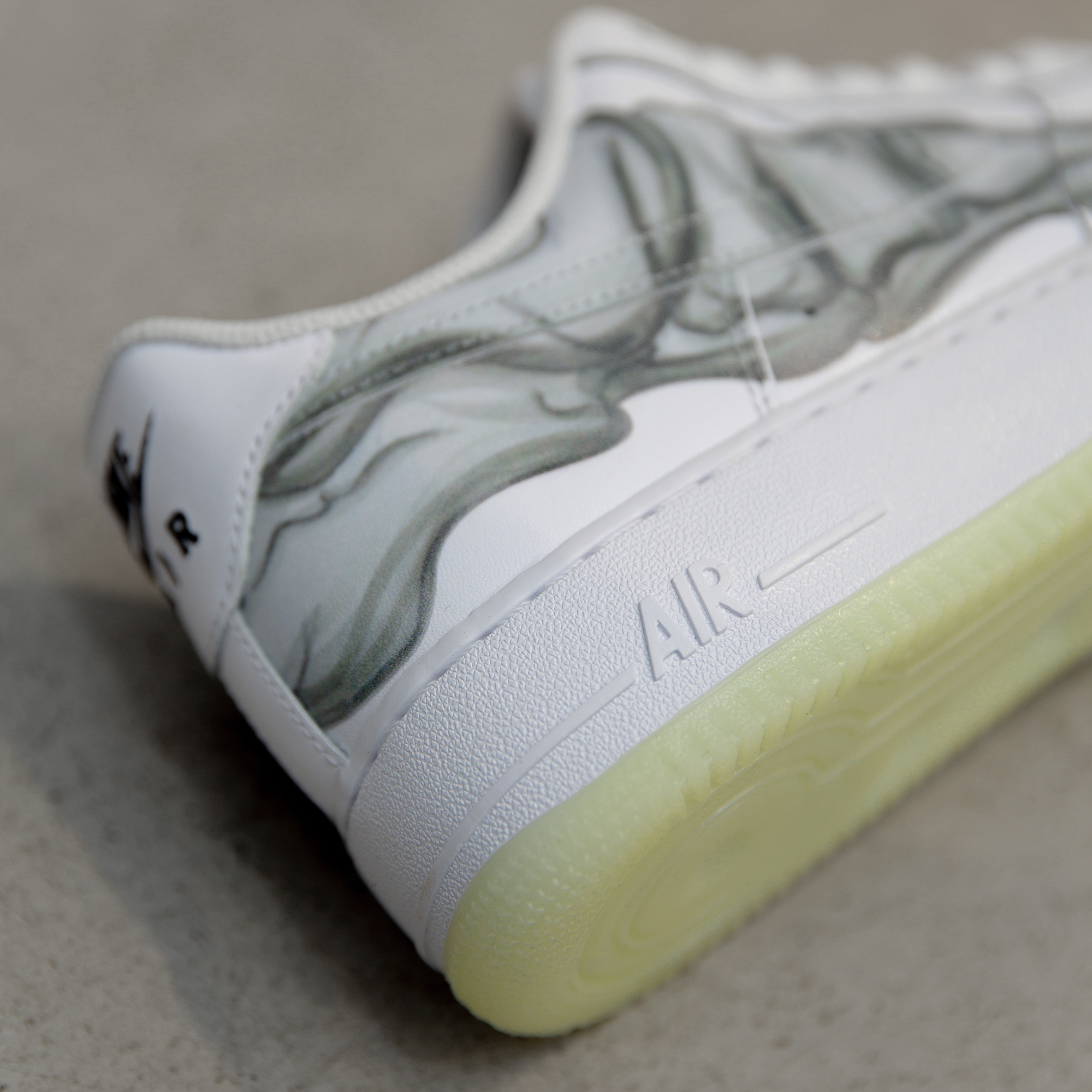Nike Air Force 1 07 Low Skeleton Quickstrike Size Blog