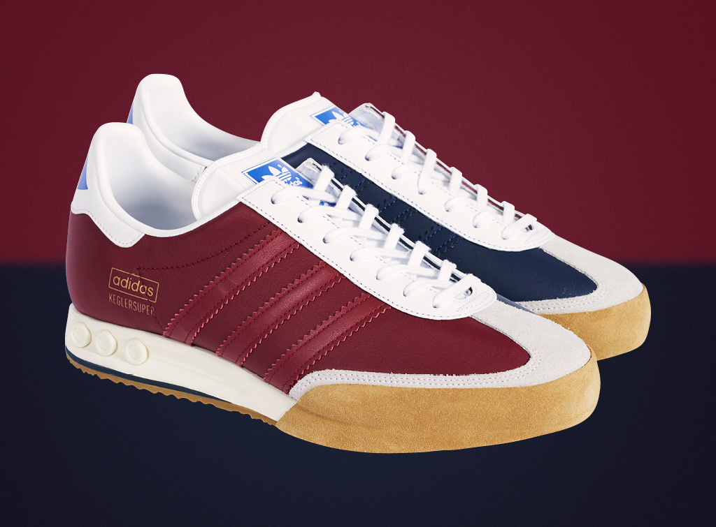 buy online fe583 656e5 A truly iconic style, adidas Originals  Kegler Super has garnered somewhat  of a cult status since first touching down in 1979. Back then, the  silhouette was ...