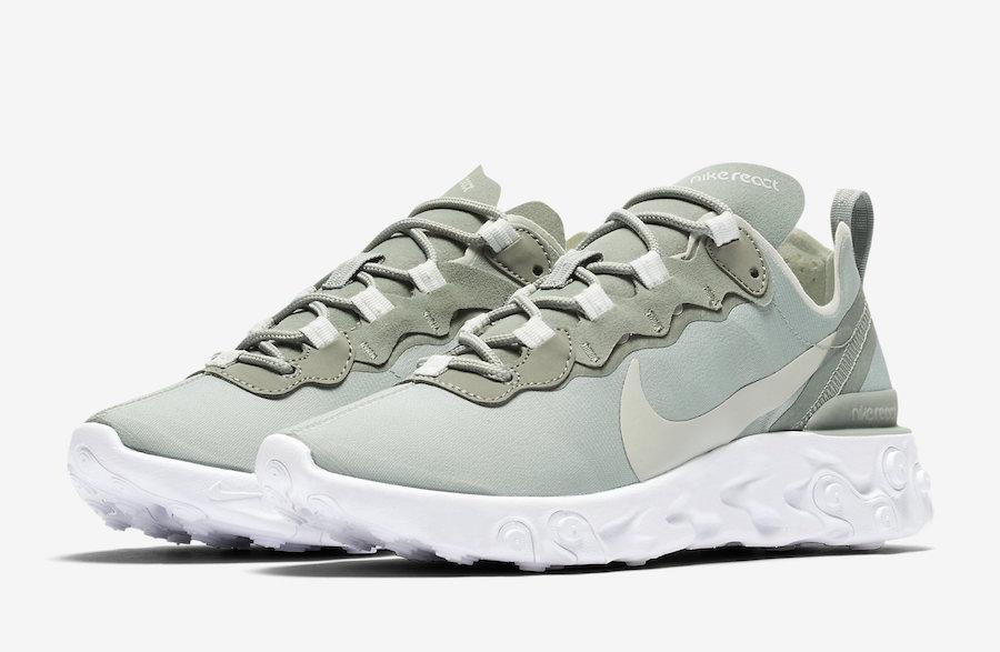 Nike React Element 55 Mica Green
