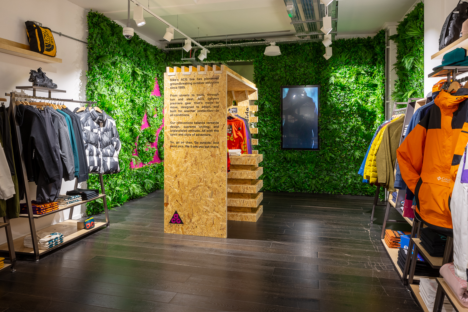 size? Carnaby Street x Nike ACG Pop Up