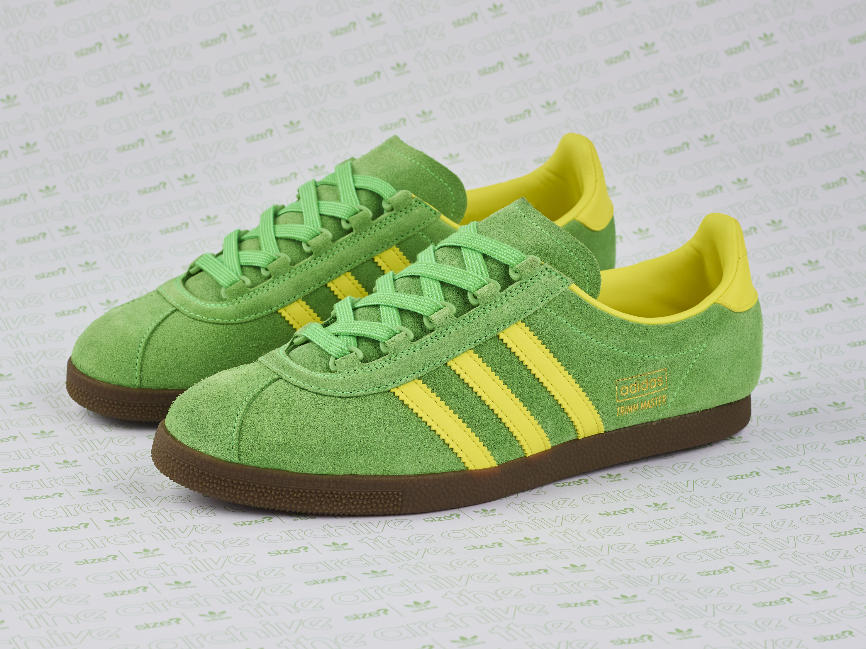 adidas Originals Archive Trimm Master OG Lime/Yellow – size? Exclusive