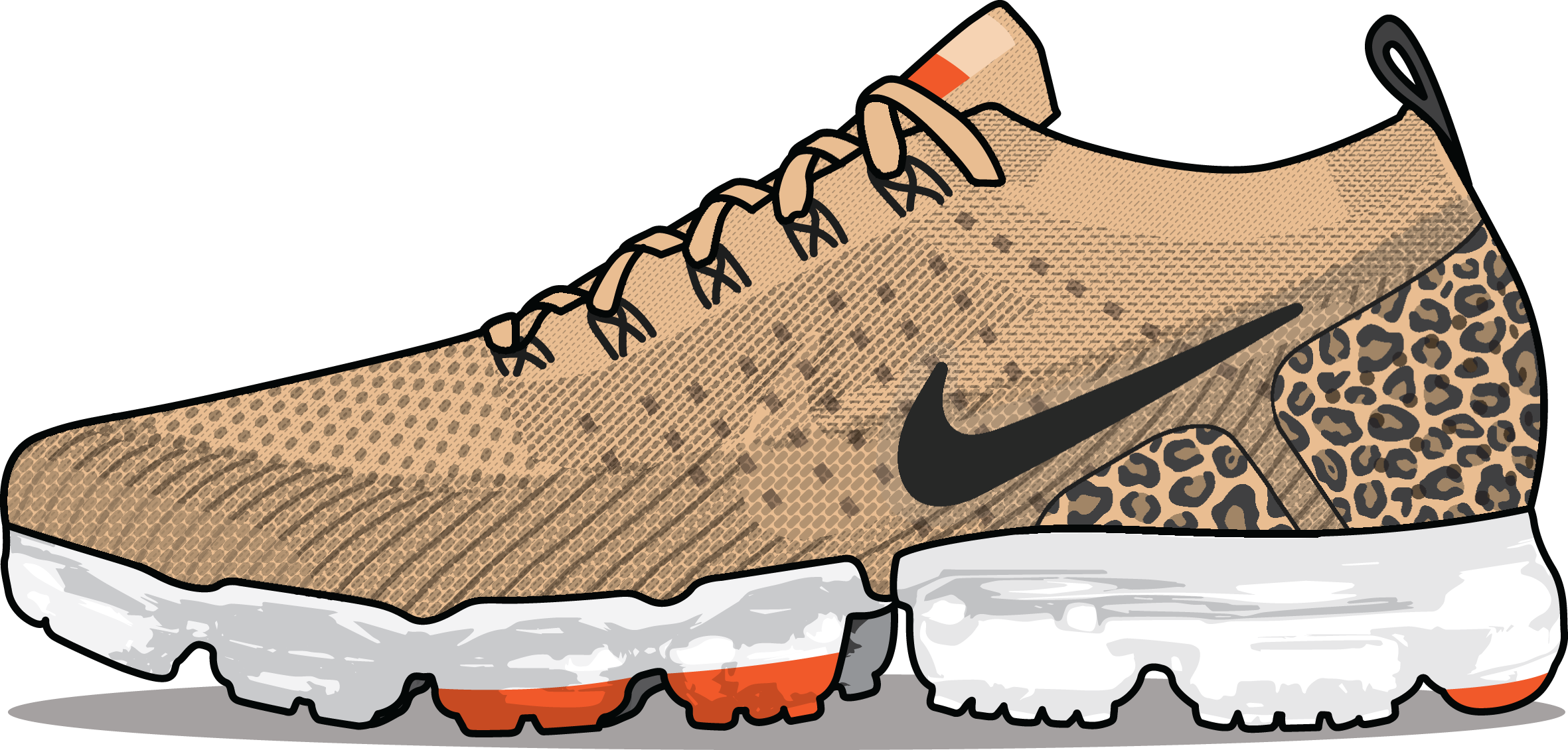 Nike Air VaporMax Animal Print Leopard