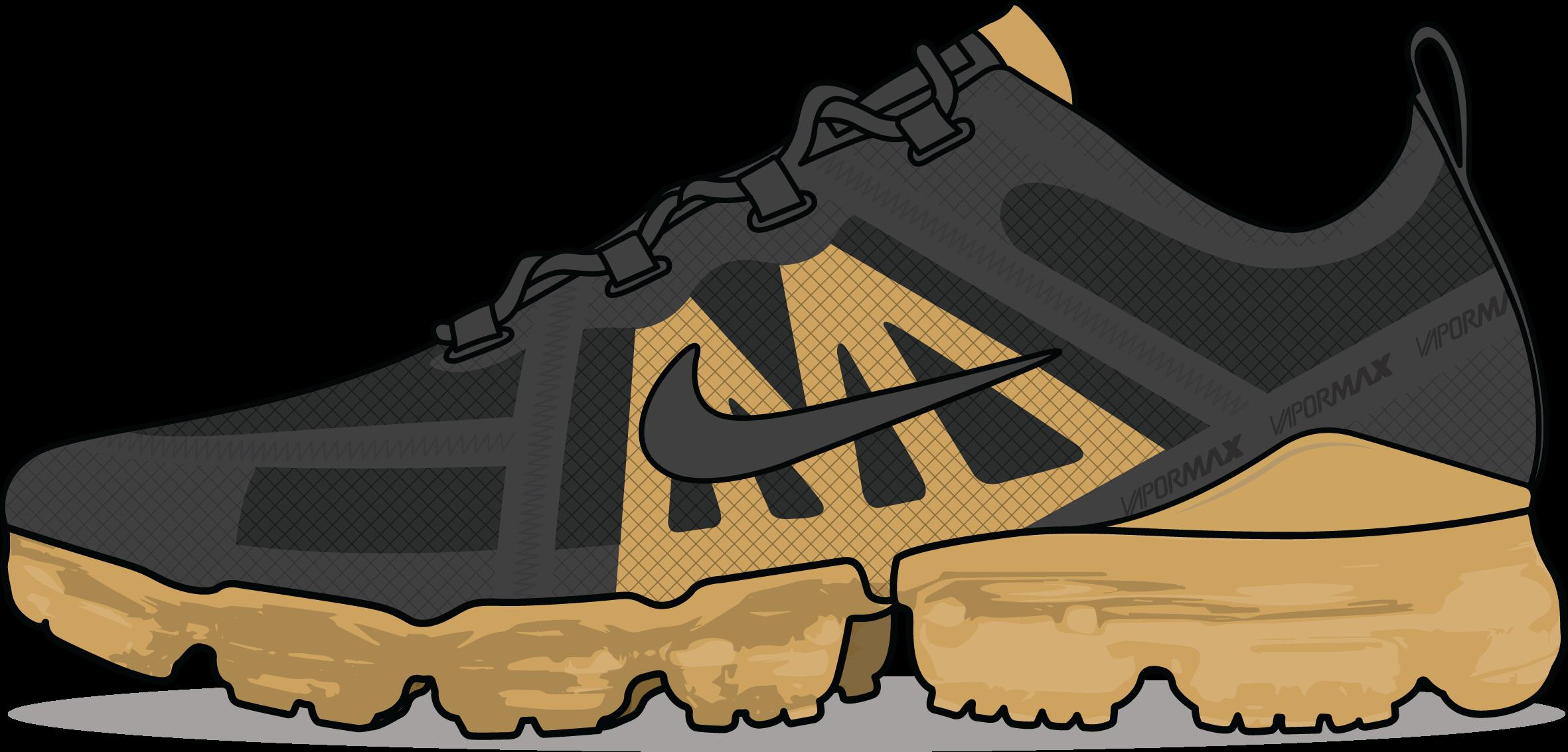 Nike Air VaporMax 2019 'Black/Gold'