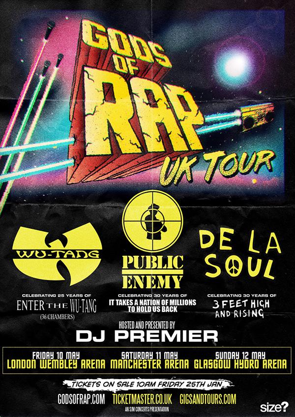 Gods of Rap UK Tour