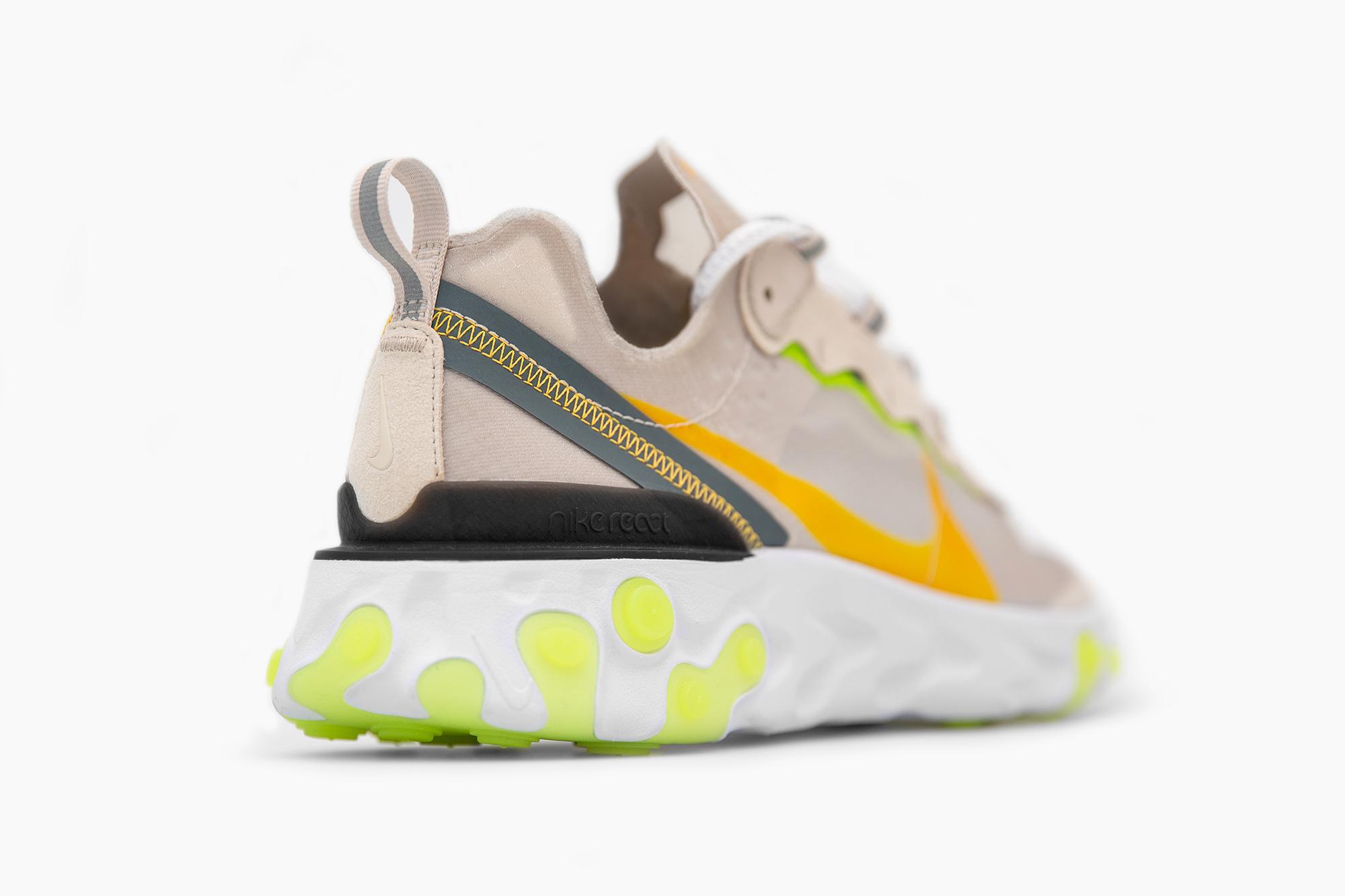 Nike React Element 87 'Orewood Brown/Laser Orange'