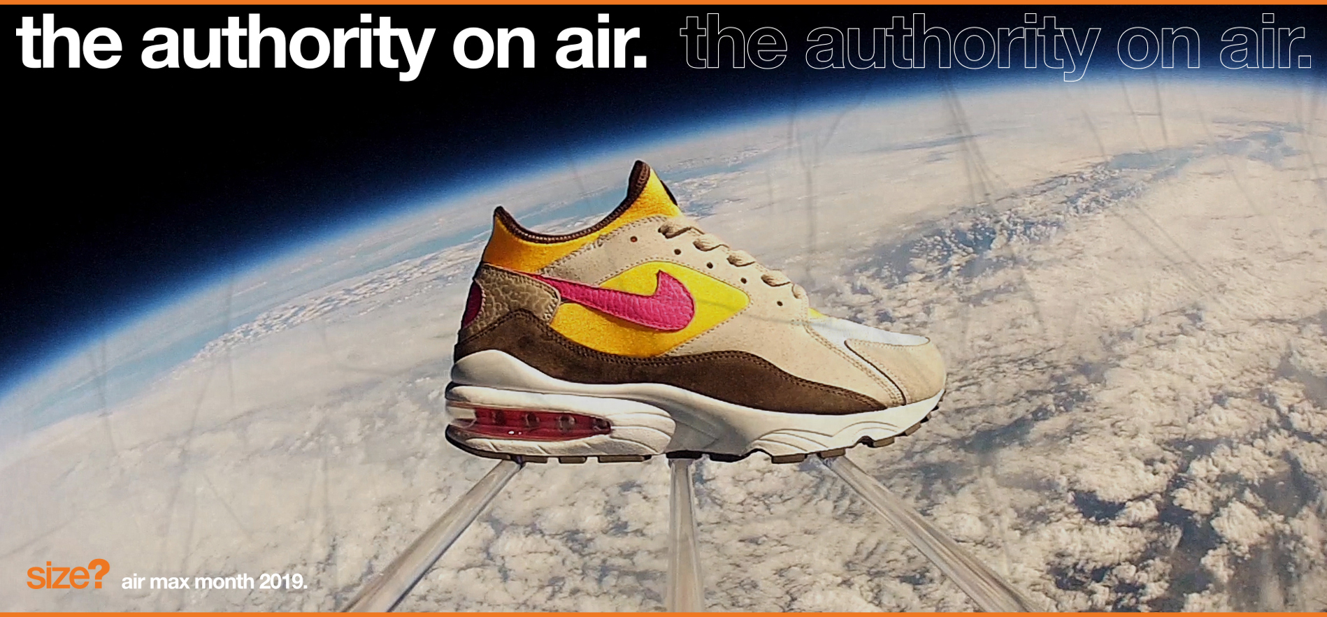 the authority on air: Air Max 93 'Maximum Air'