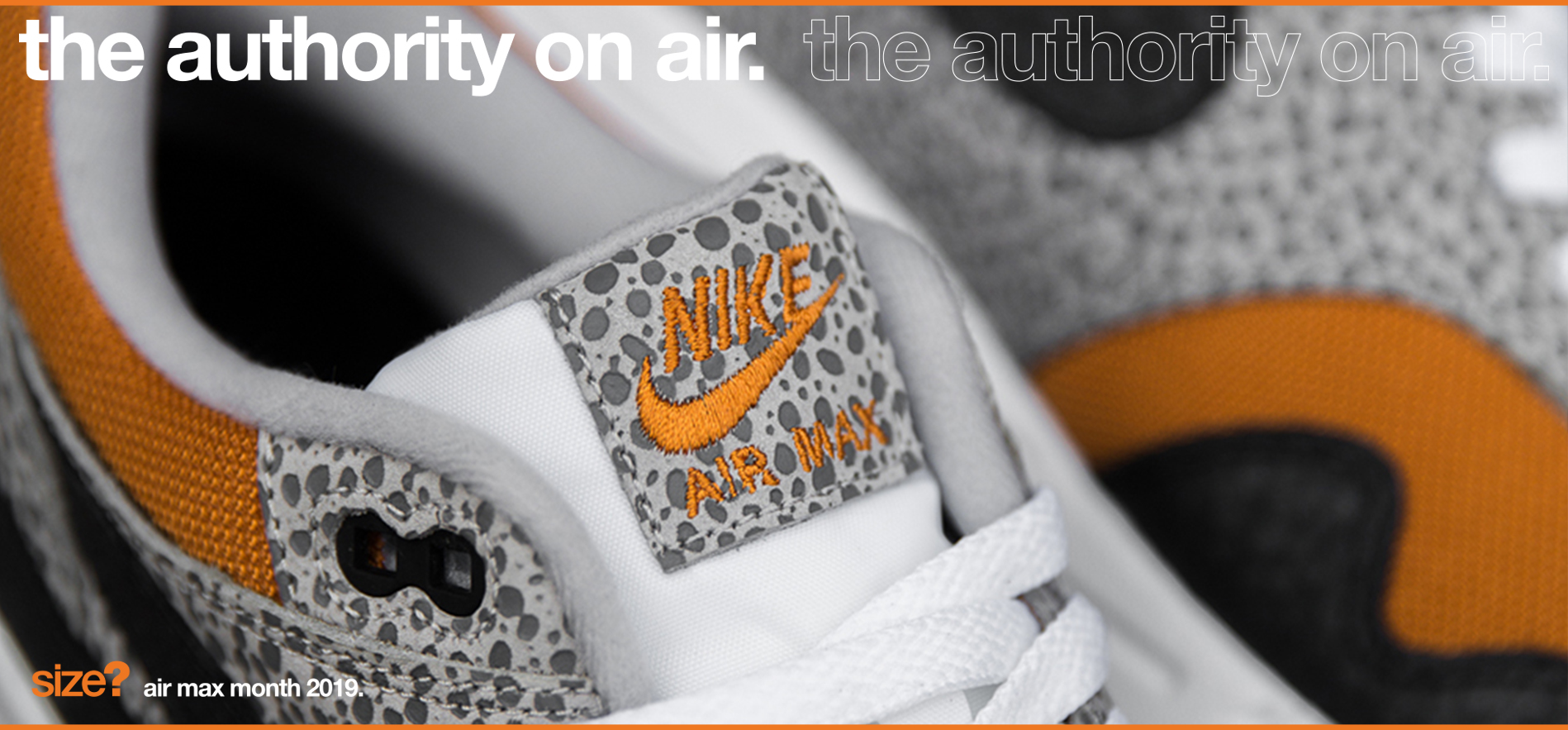 the authority on air: Air Max 1 & Air Max 95 'Safari' Pack