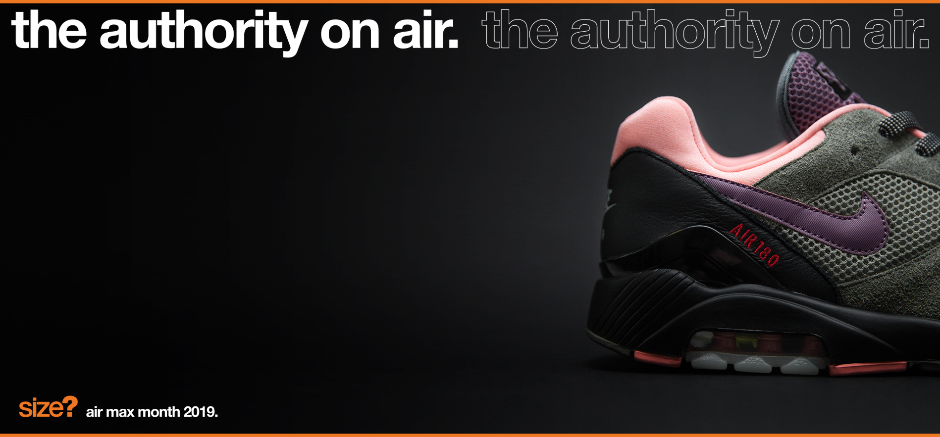 the authority on air: Air Max 1 & Air Max 180 'Dusk to Dawn'