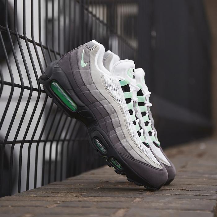 check out 8ffe5 435b7 Air Max 95  Fresh Mint  Grey Green