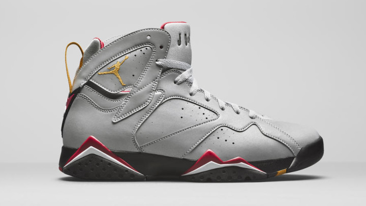 Air Jordan 7 Reflection of a Champion pack, 3m Reflective