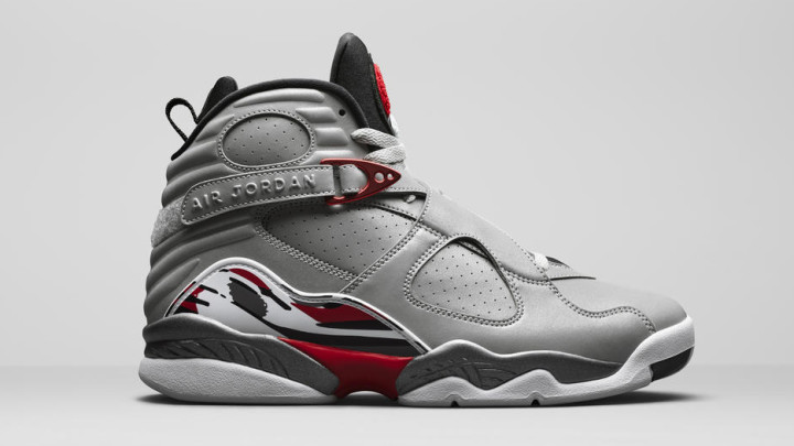 Air Jordan 8 Reflection of a Champion pack, 3m Reflective