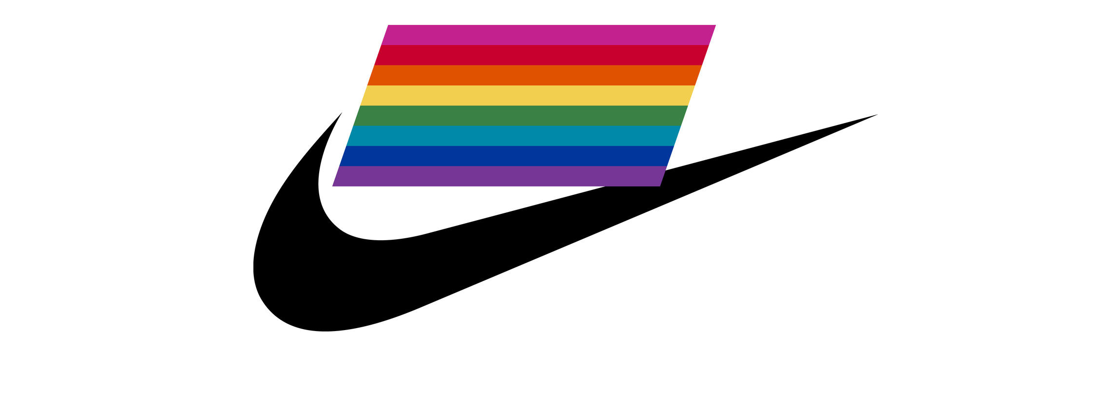 Nike Be True Swoosh Logo