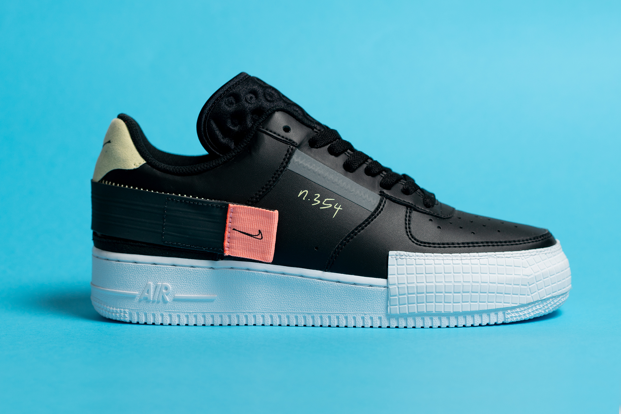 Nike N. 354 - Air Force 1 Type Black